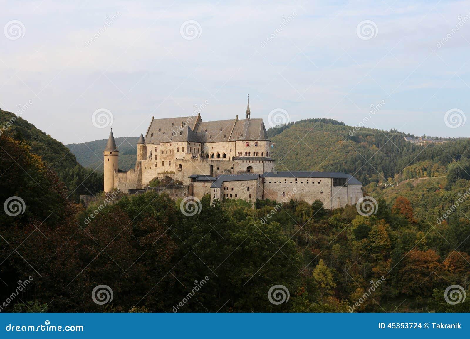 Vianden slott, Luxembourg