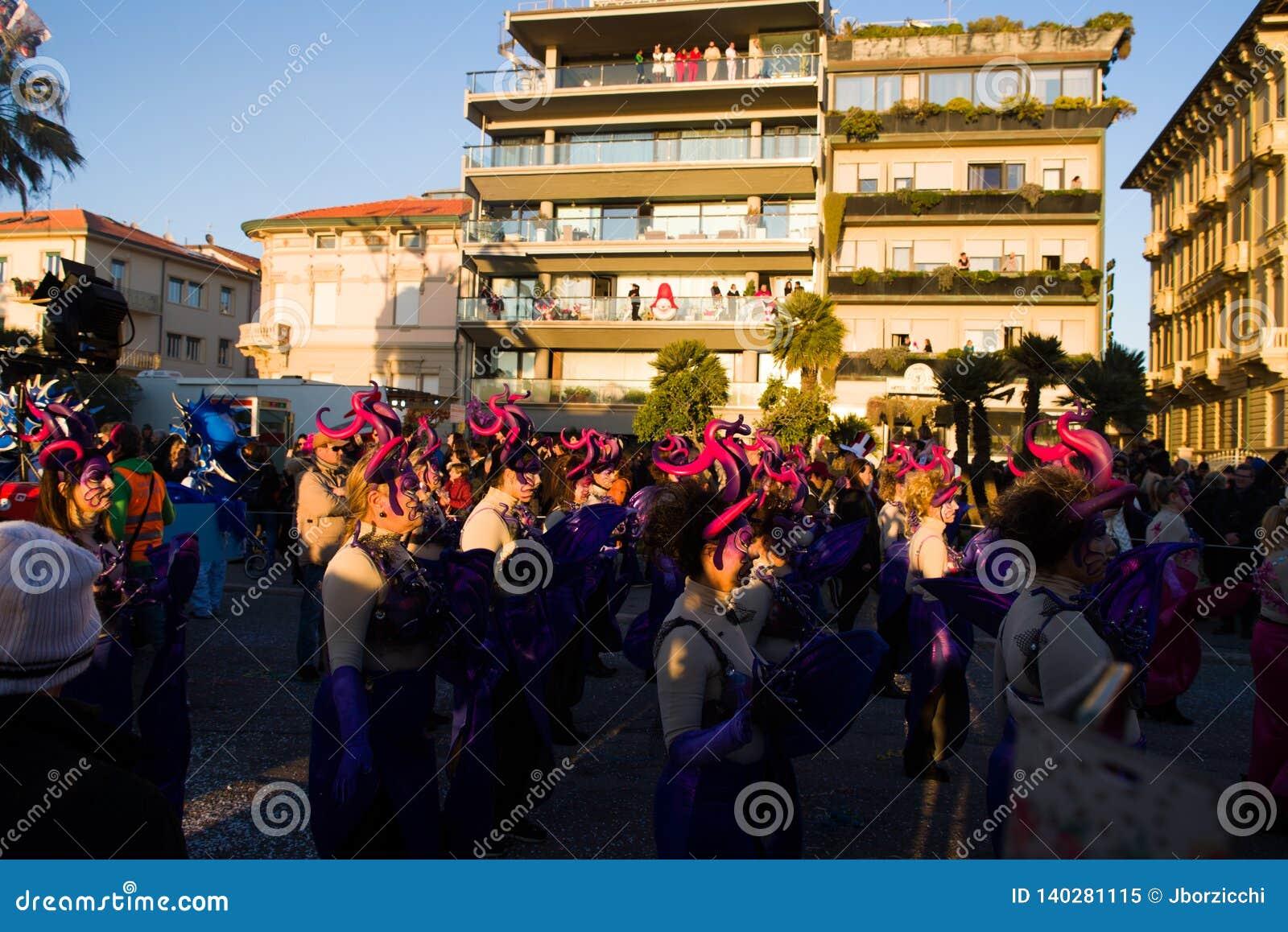 Viareggios karneval, upplaga 2019
