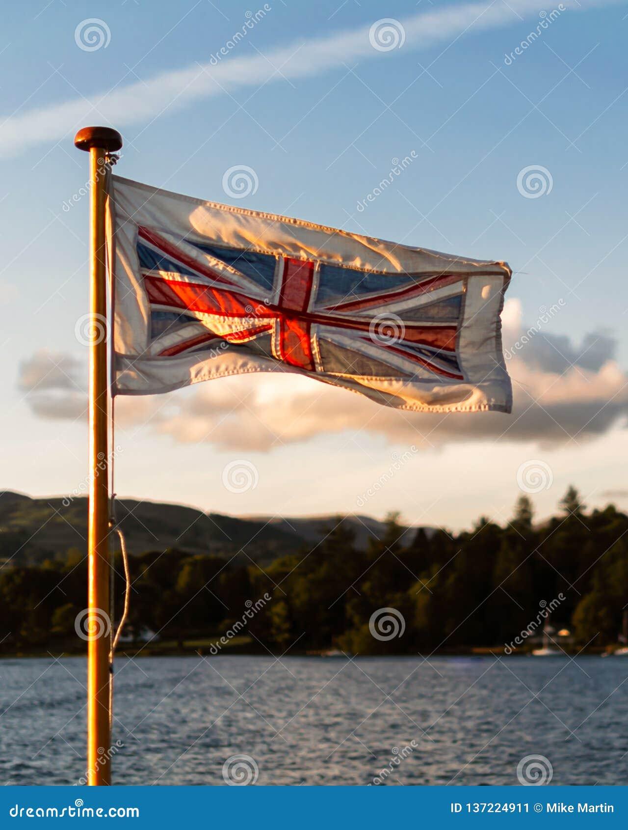 Vibração & bandeira de união gloriosa