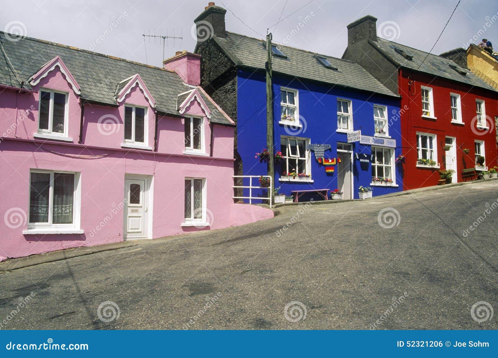 homes in eyeries west cork ireland editorial