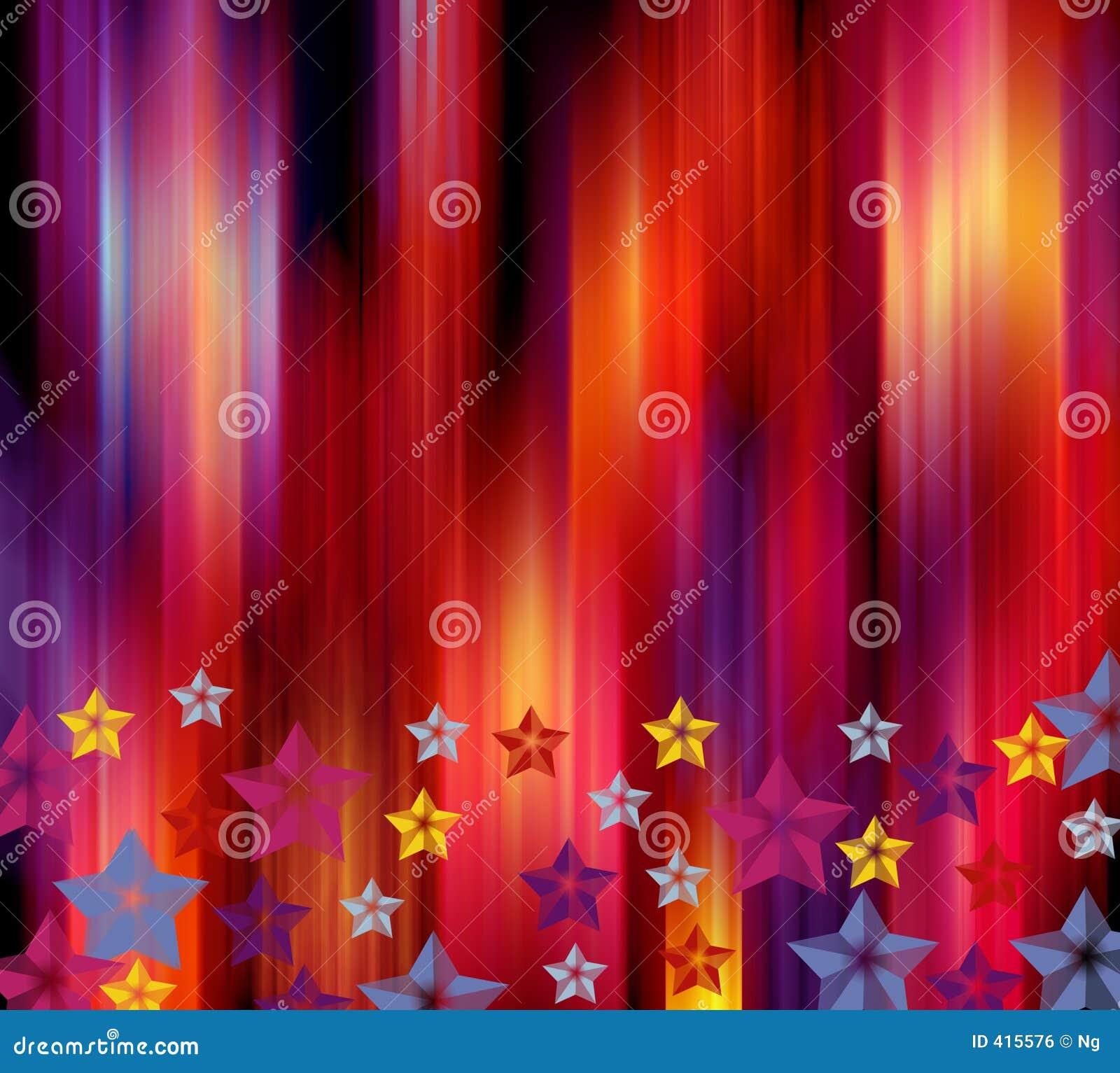 Vibrant holiday background