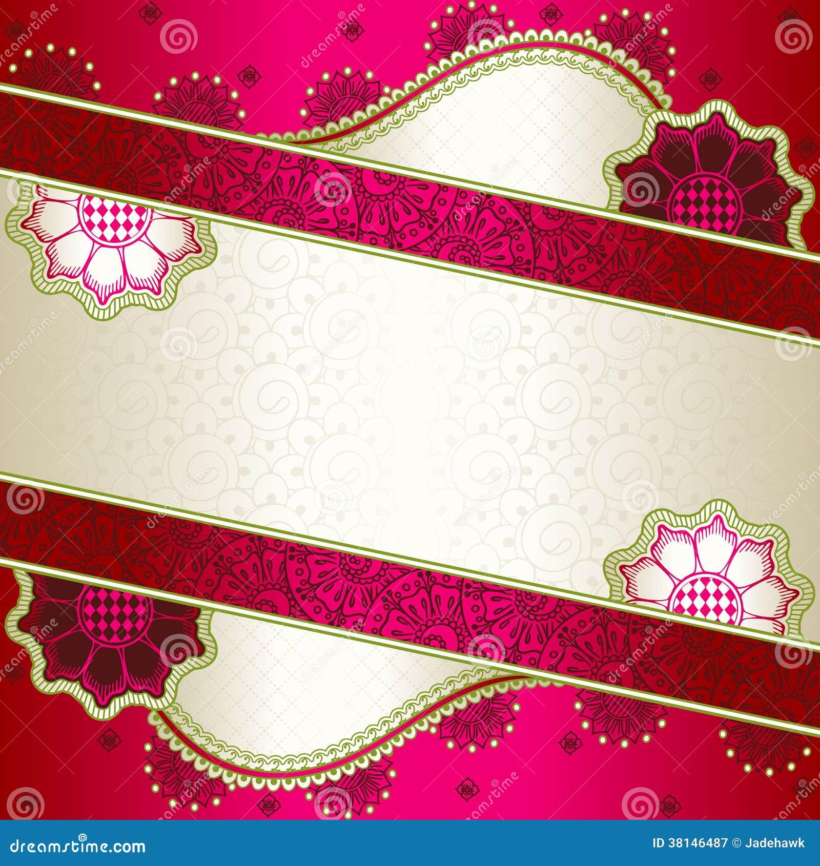 henna inspired banners borders - photo #24