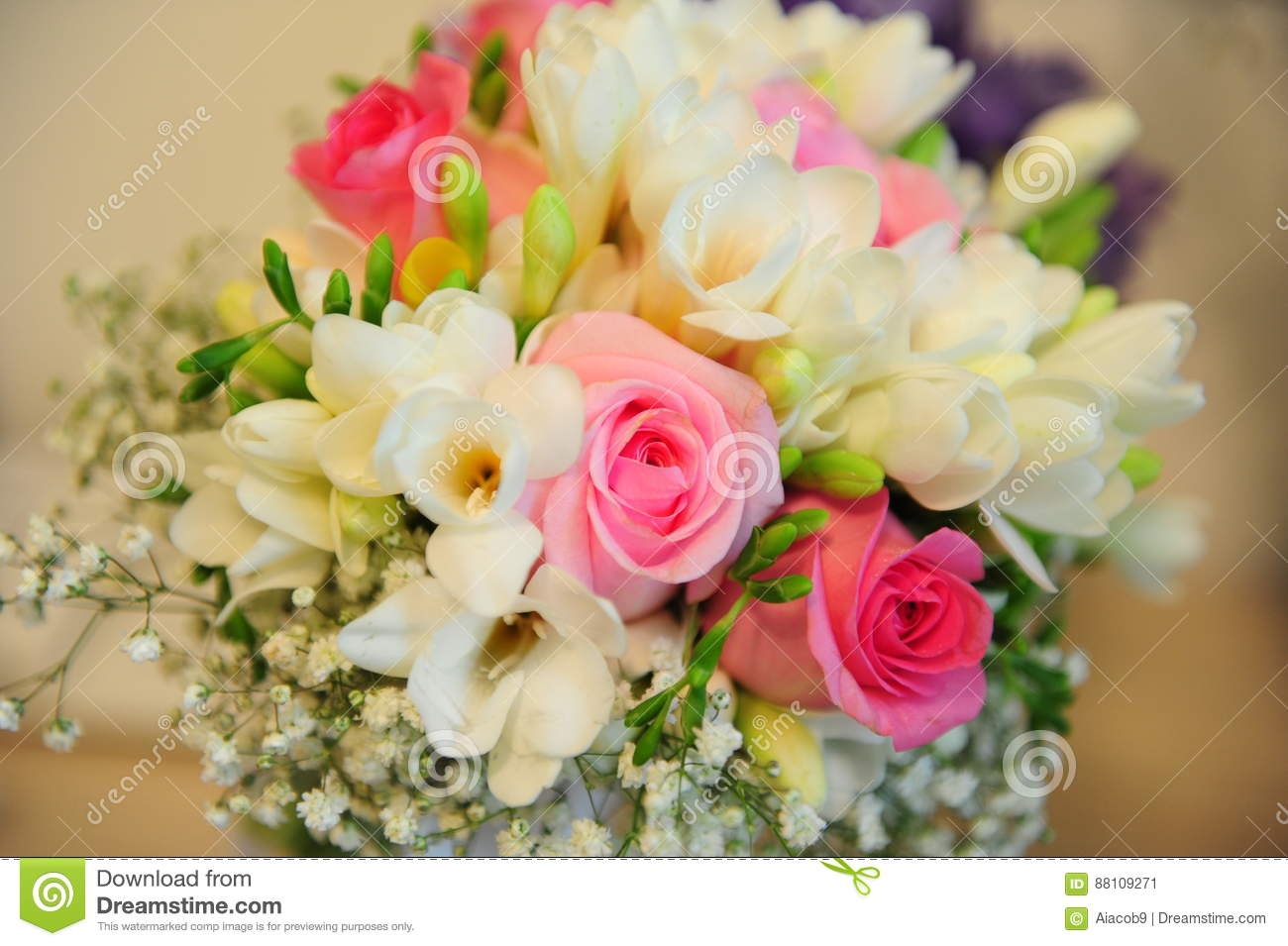 Vibrant Spring Wedding Bouquet Stock Image Image Of Design Dream