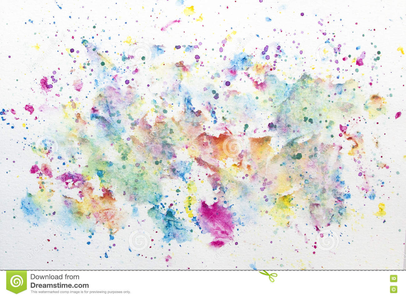 Green And White Paint Splatter Png
