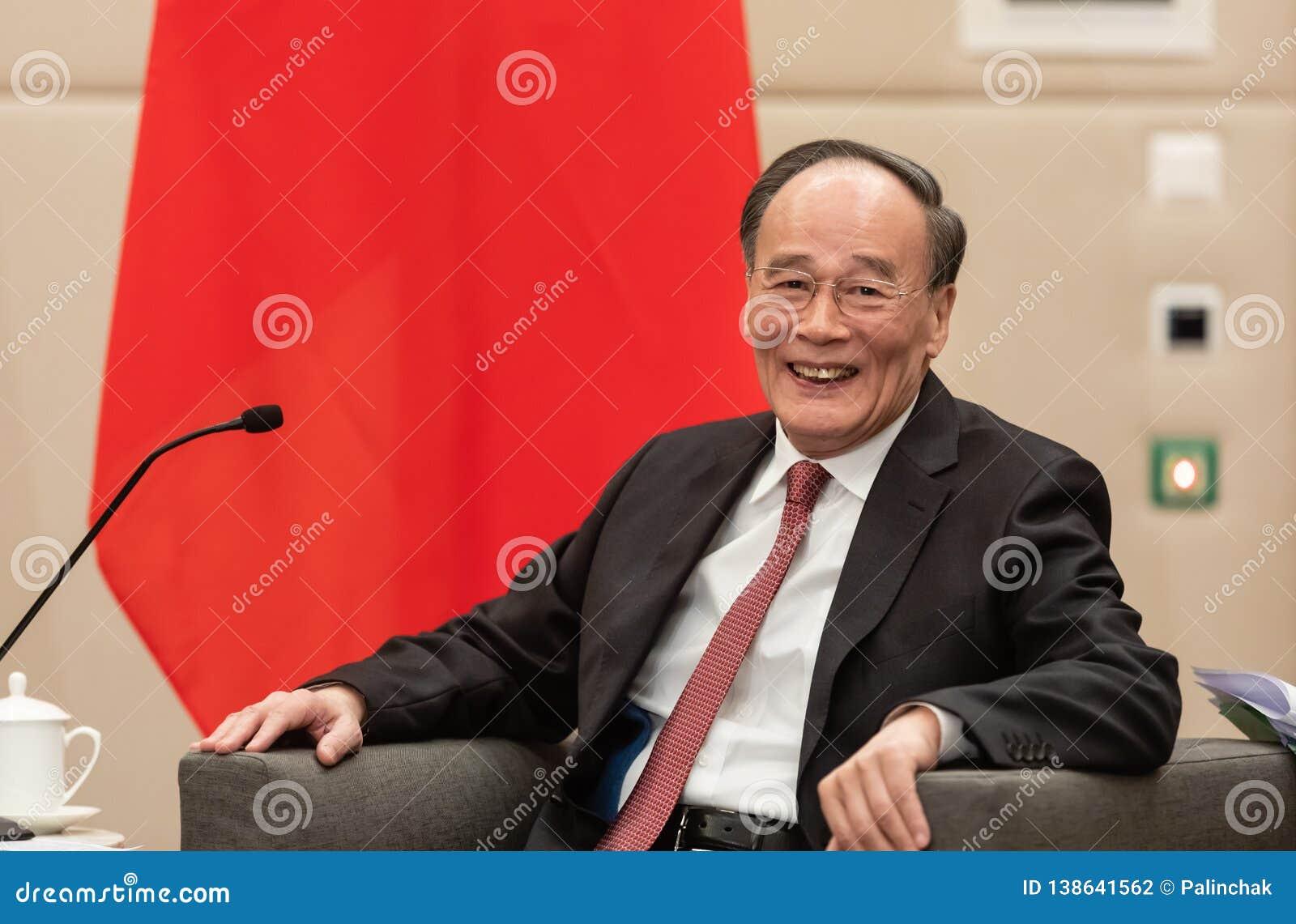 Vicepresidente de la República de China Wang Qishan