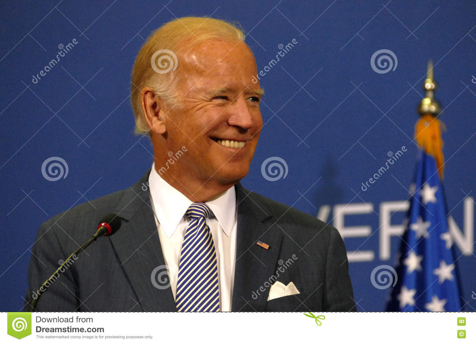 Vicepresidente José  Joe  Biden y servio P.M. Aleksandar Vucic de los E.E.U.U.