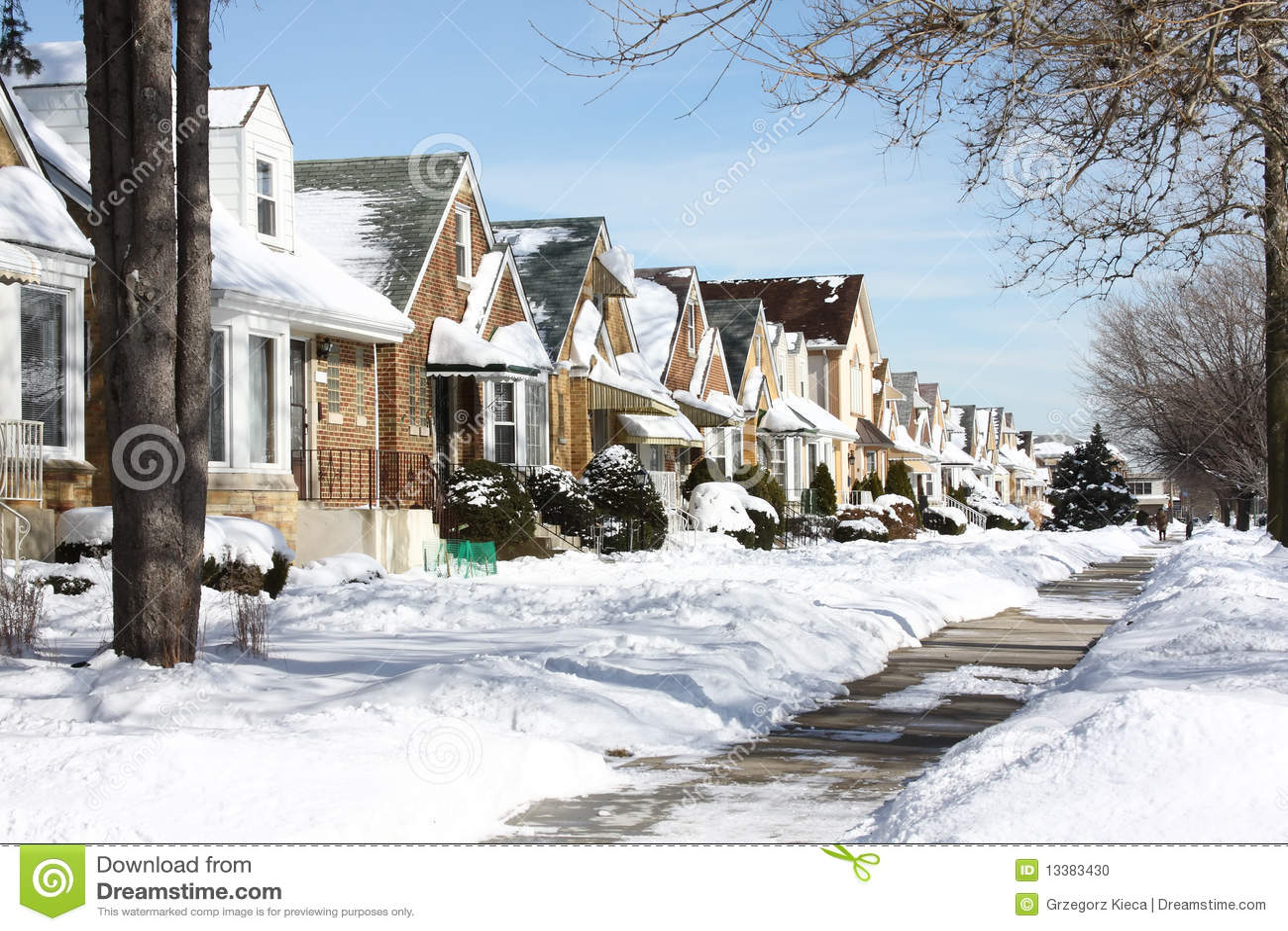 Vicinanza dello Snowy Chicago