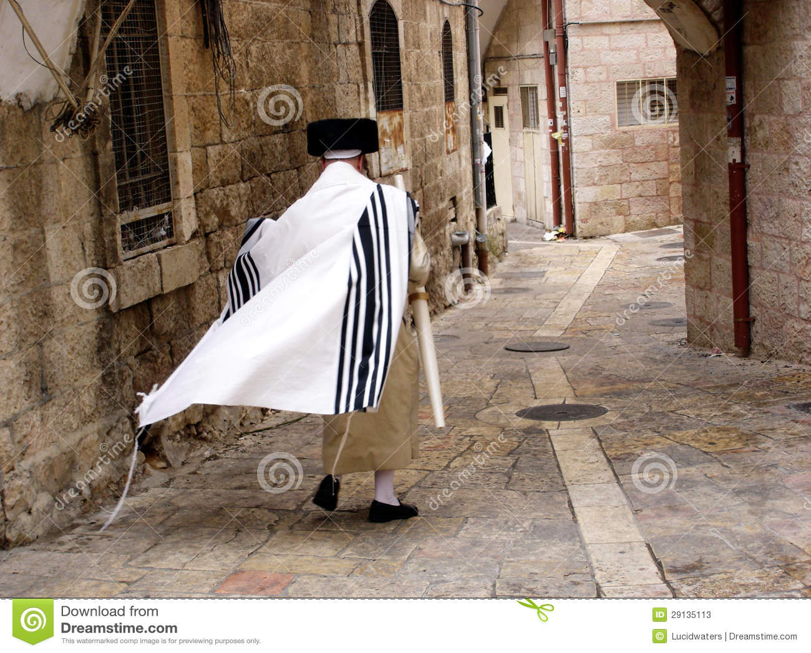Vicinanza di Mea Shearim a Gerusalemme Israele.