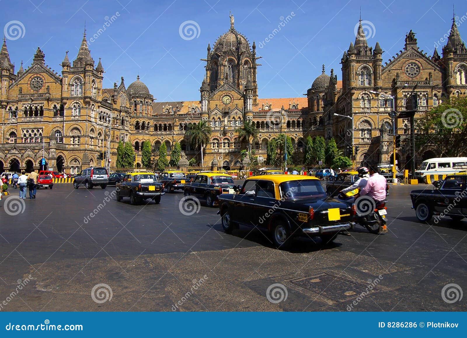 Victoire de gare de mumbai de l Inde