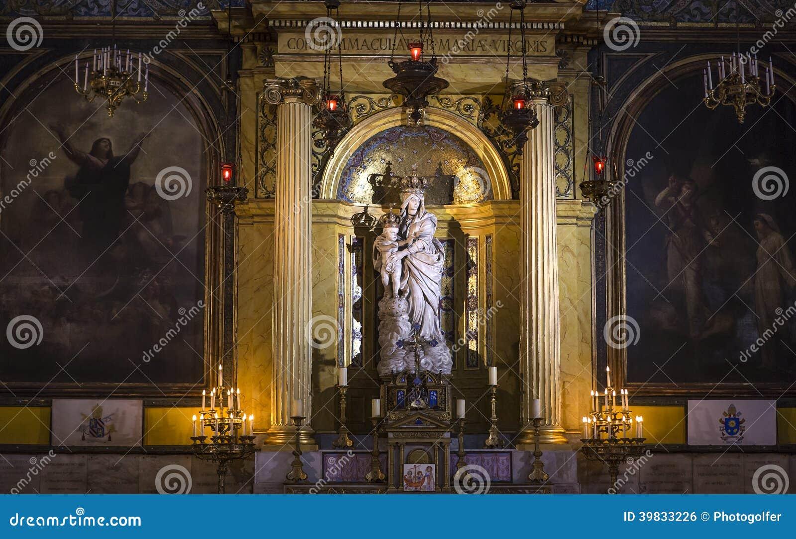 Victoires église, Paris, France de DES de Notre Dame