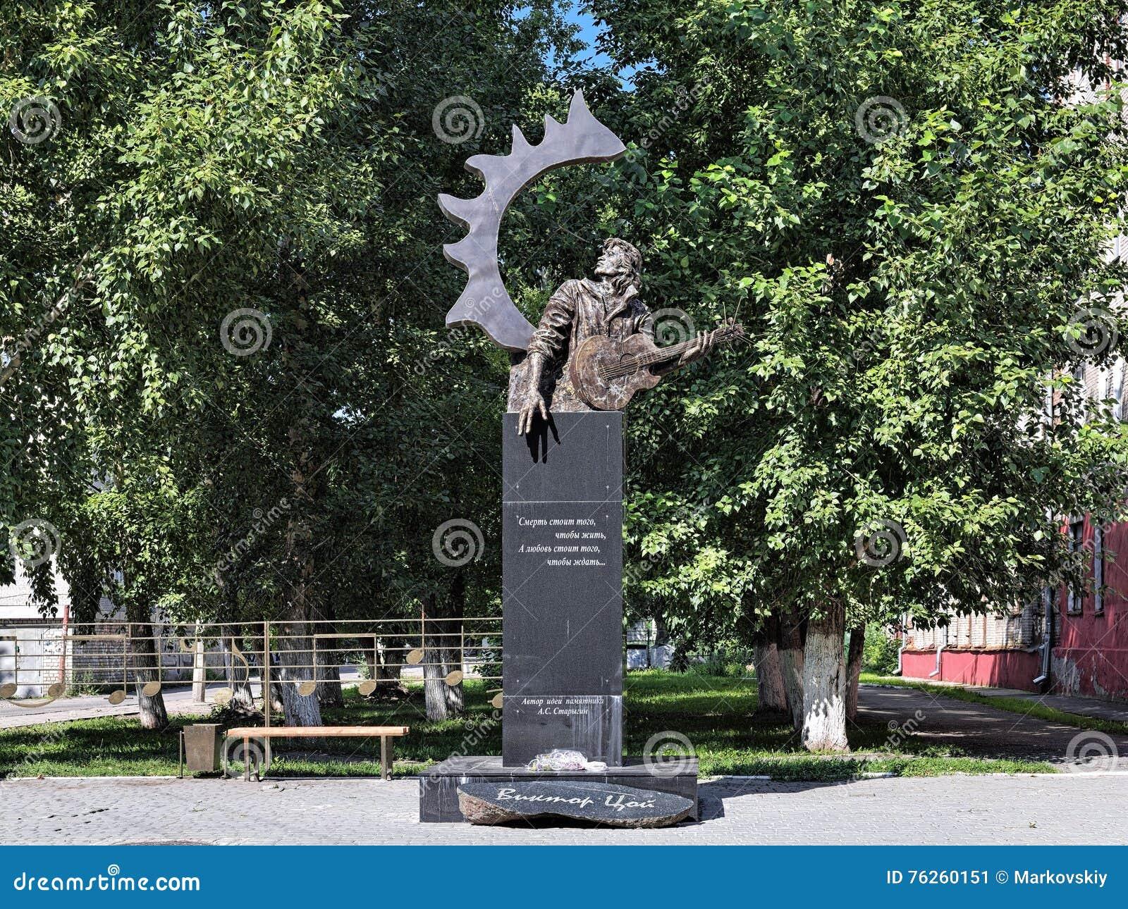 Monument to Viktor Tsoi will go to the Novgorod region 09/29/2015 86