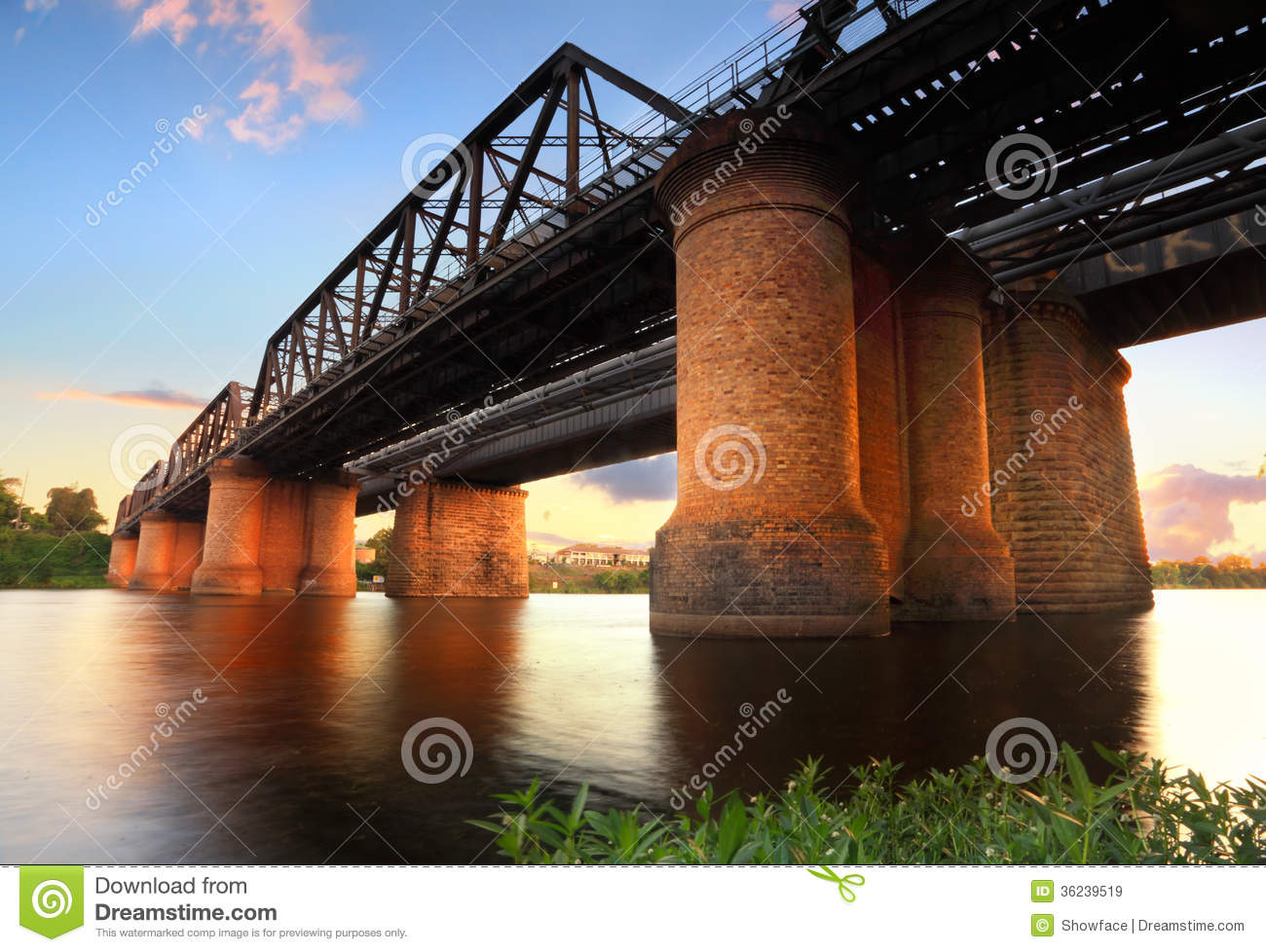 Victoria Bridge Penrith Stock Image Image Of Leisure