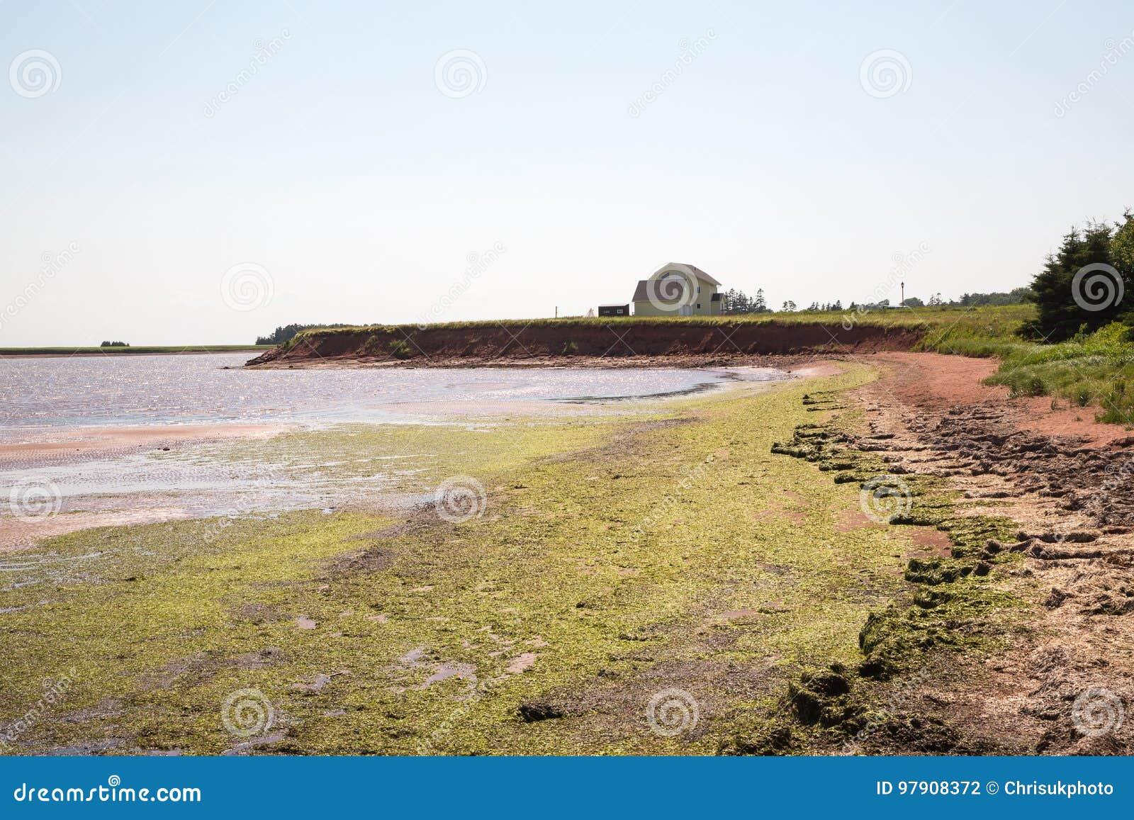 Victoria durch Meer auf Prinzen Edward Island in Kanada