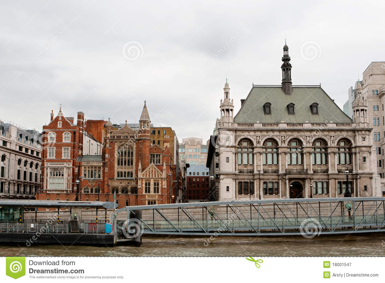 Victoria Embankment London England Stock Image Image Of Thames