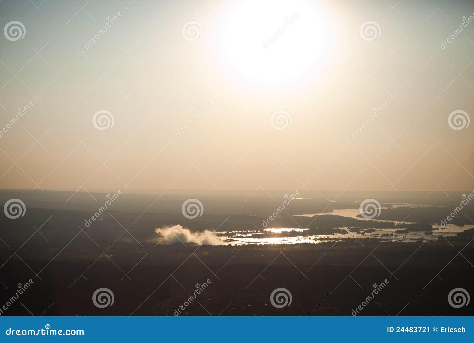 Victoria Falls del aire
