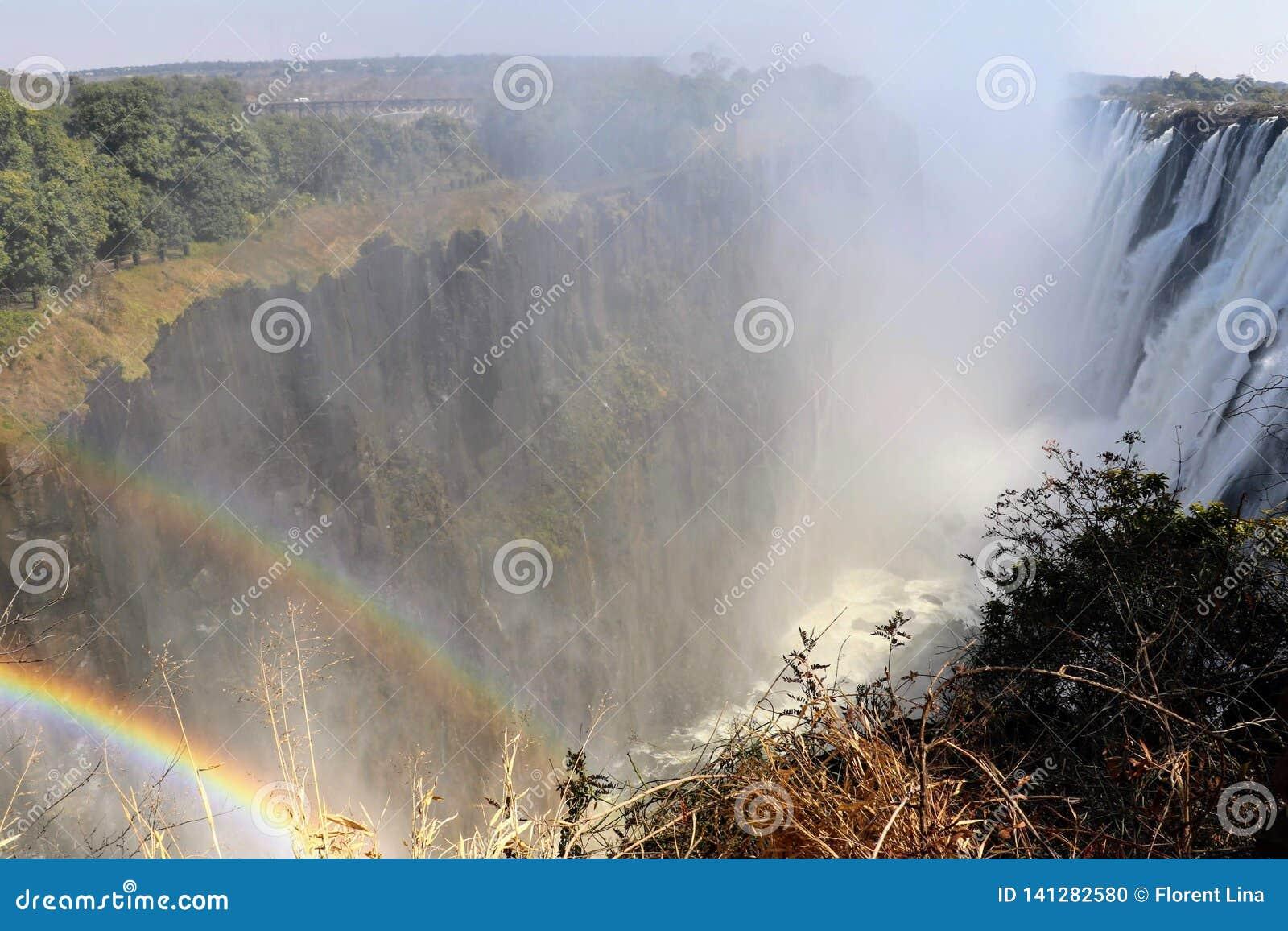 Victoria Falls del lado de Zambia