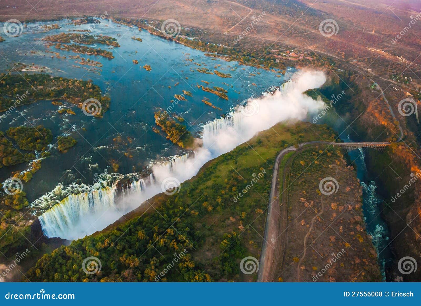 Victoria Falls do ar