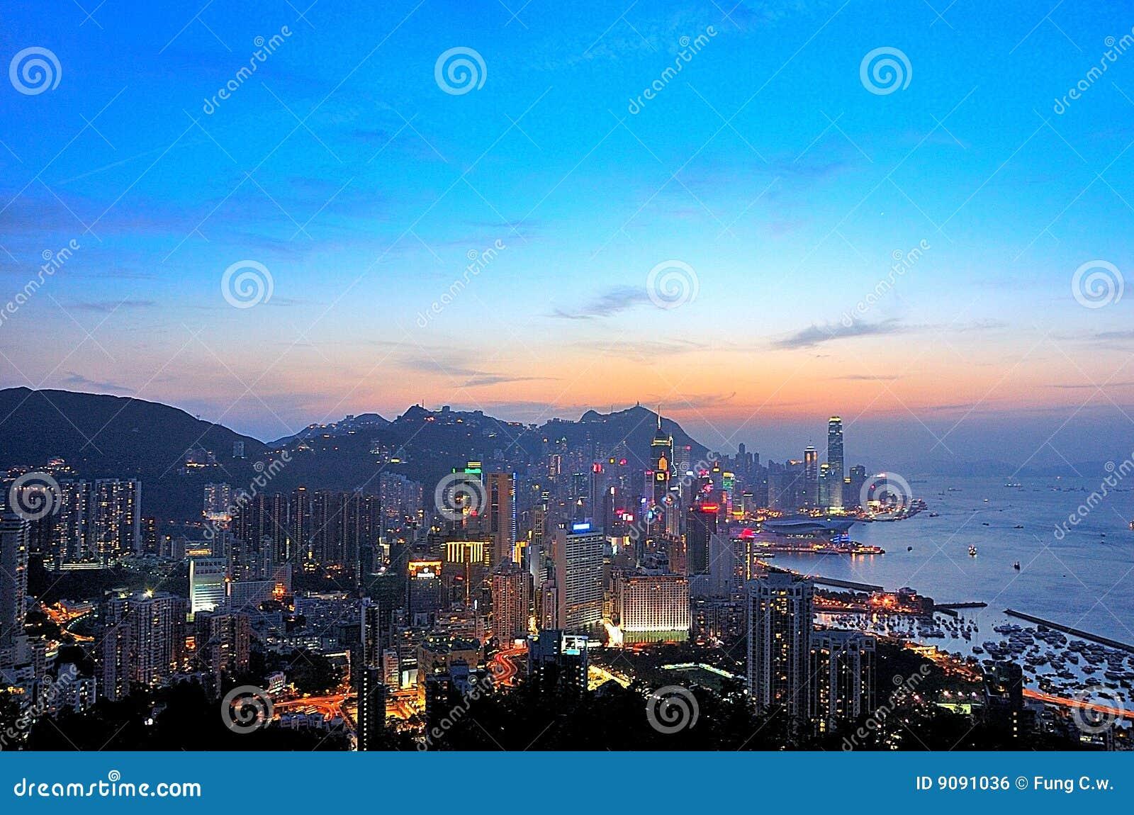 Victoria-Hafen in HK
