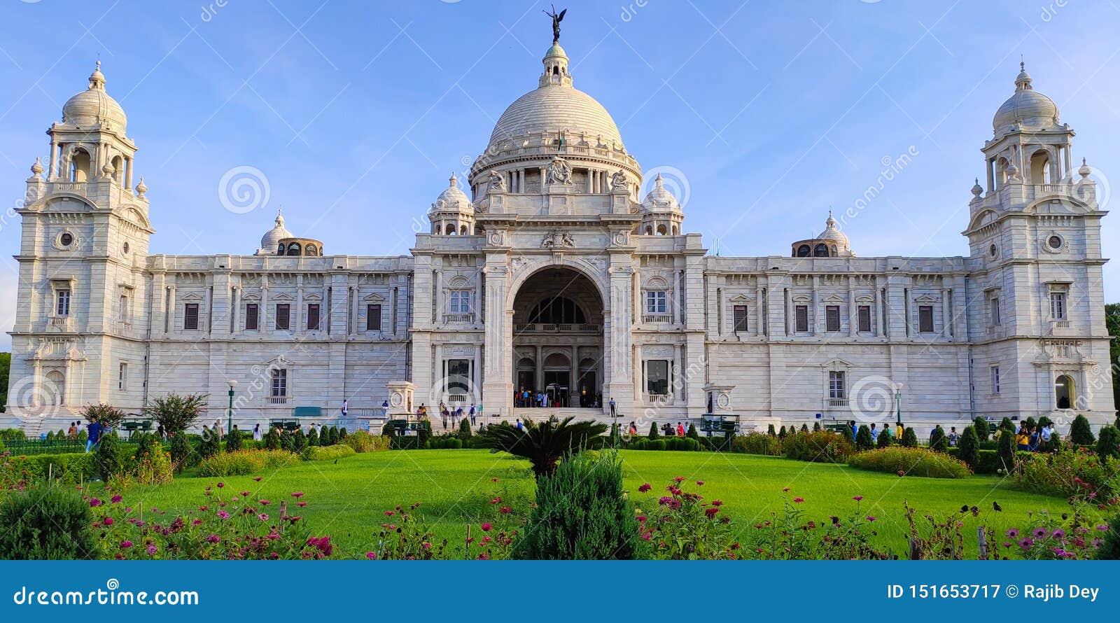 Victoria Memorial est le monument le plus iconique dans Kolkata, Inde Il était de construire par le Roi George V comme mémoire po