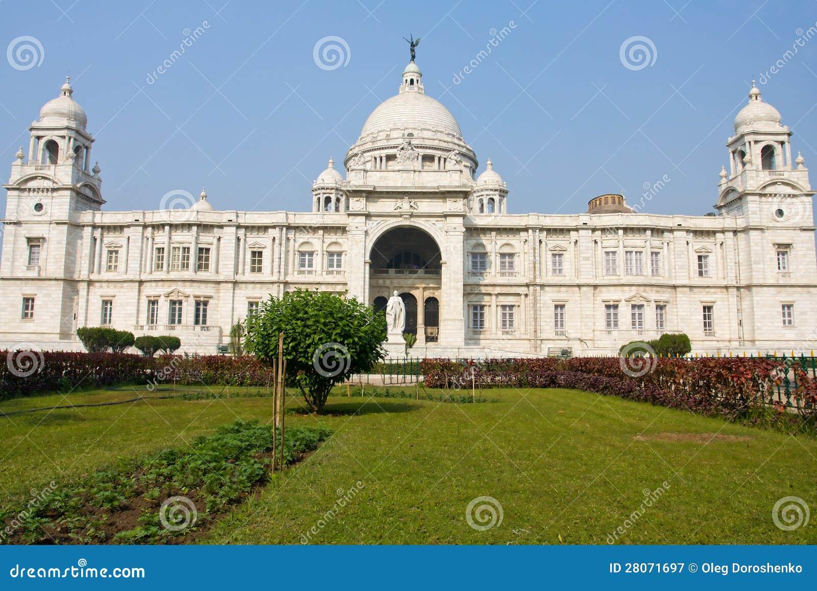 Victoria Memorial India Stock Image Image Of Exterior