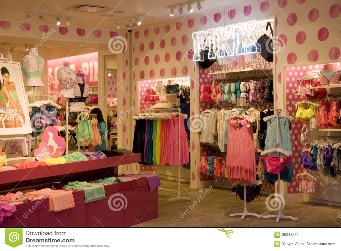 b2647211e27 Victoria Secret store with beautiful interiors in Bellevue Square Mall