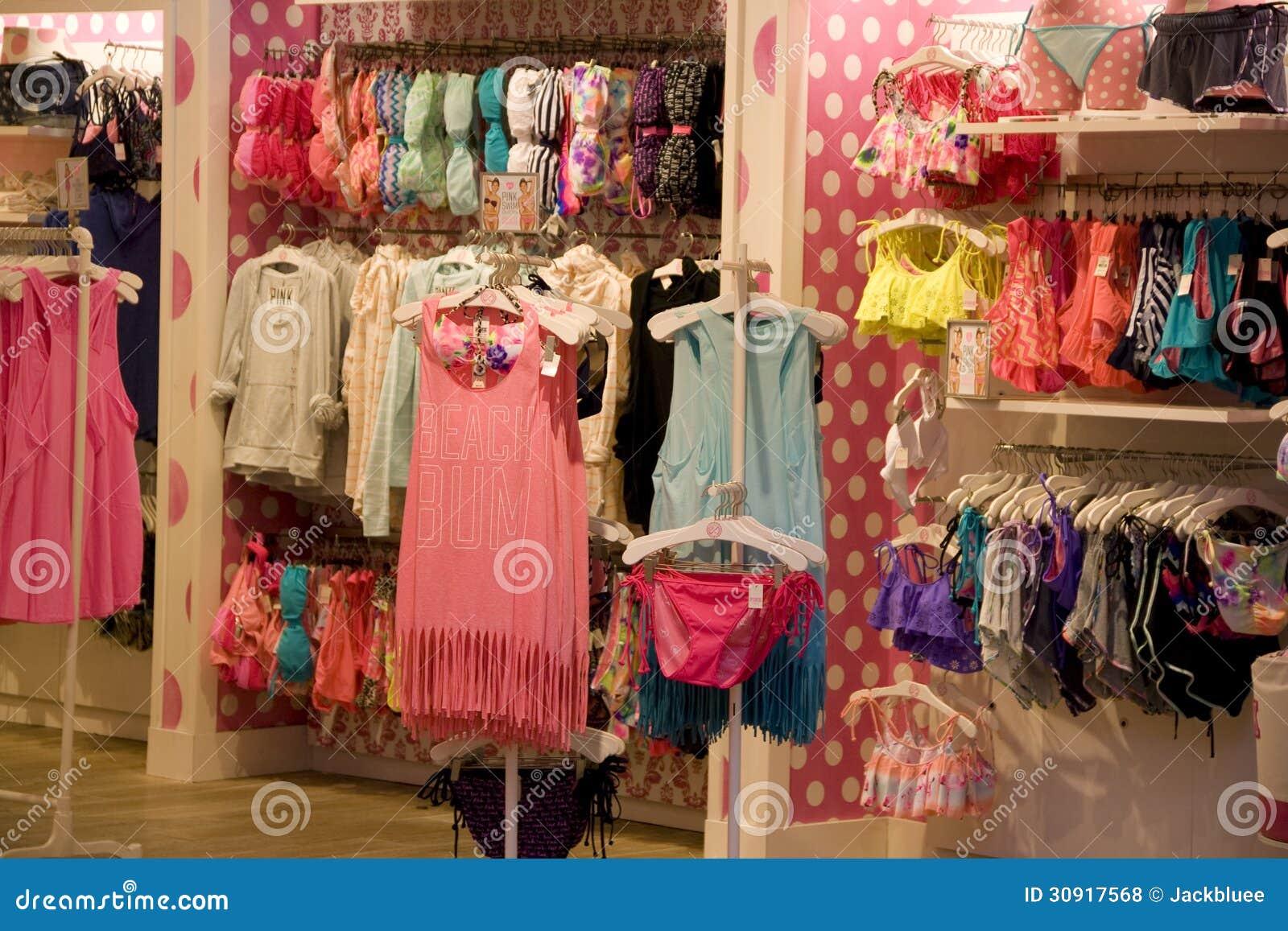 Victoria Pink under ware store