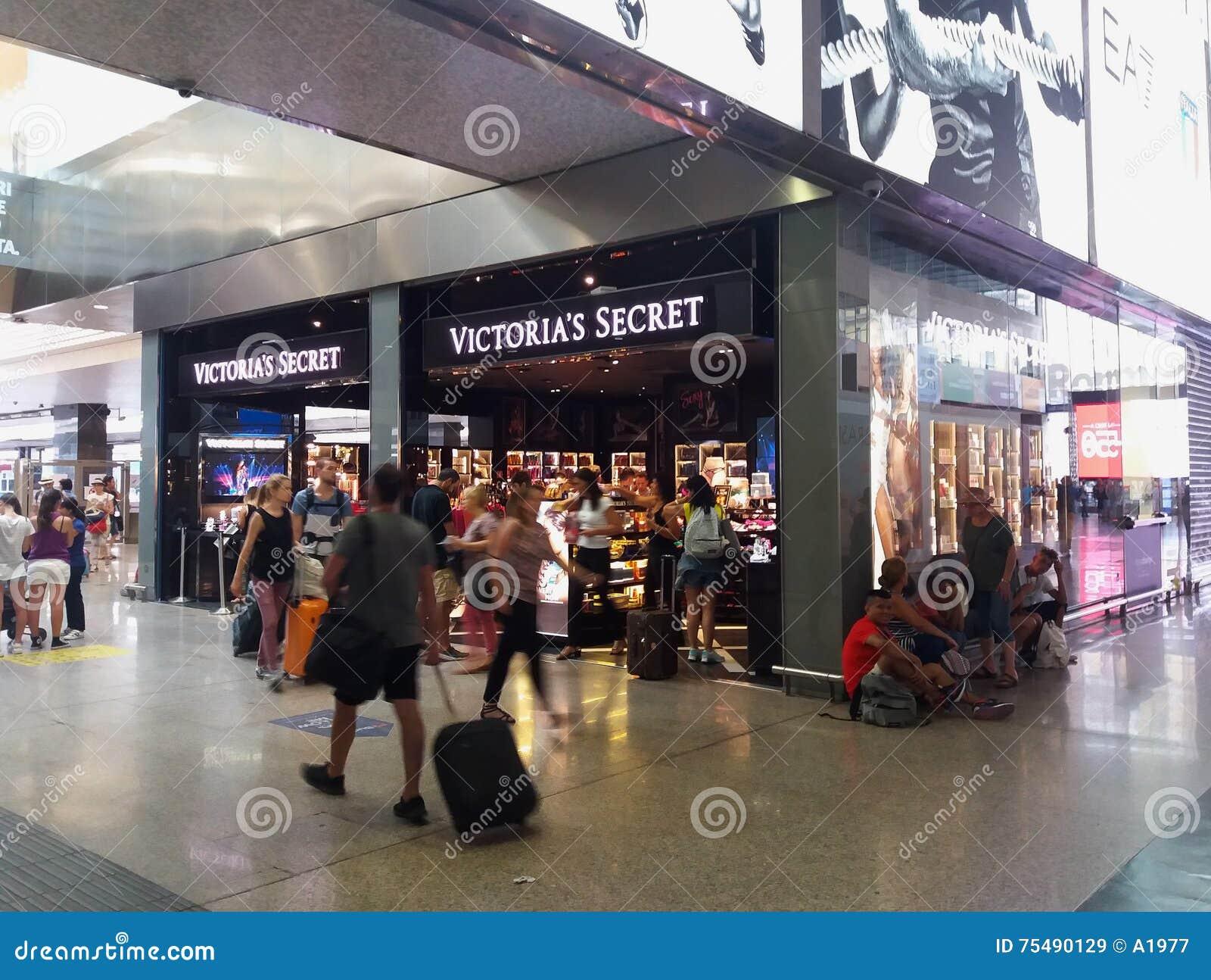 f12683e94 ROME, ITALY - CIRCA JULY 2016: Victoria's Secret brand store in Rome in  Rome, Italy