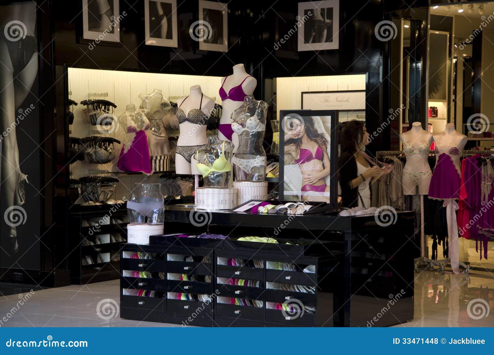 A store display. Victoria's Secret in Las Vegas, Nevada