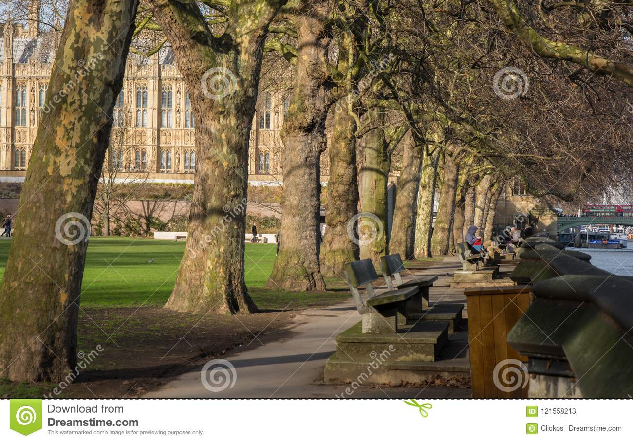 Victoria Tower Gardens, Westmister, London, England