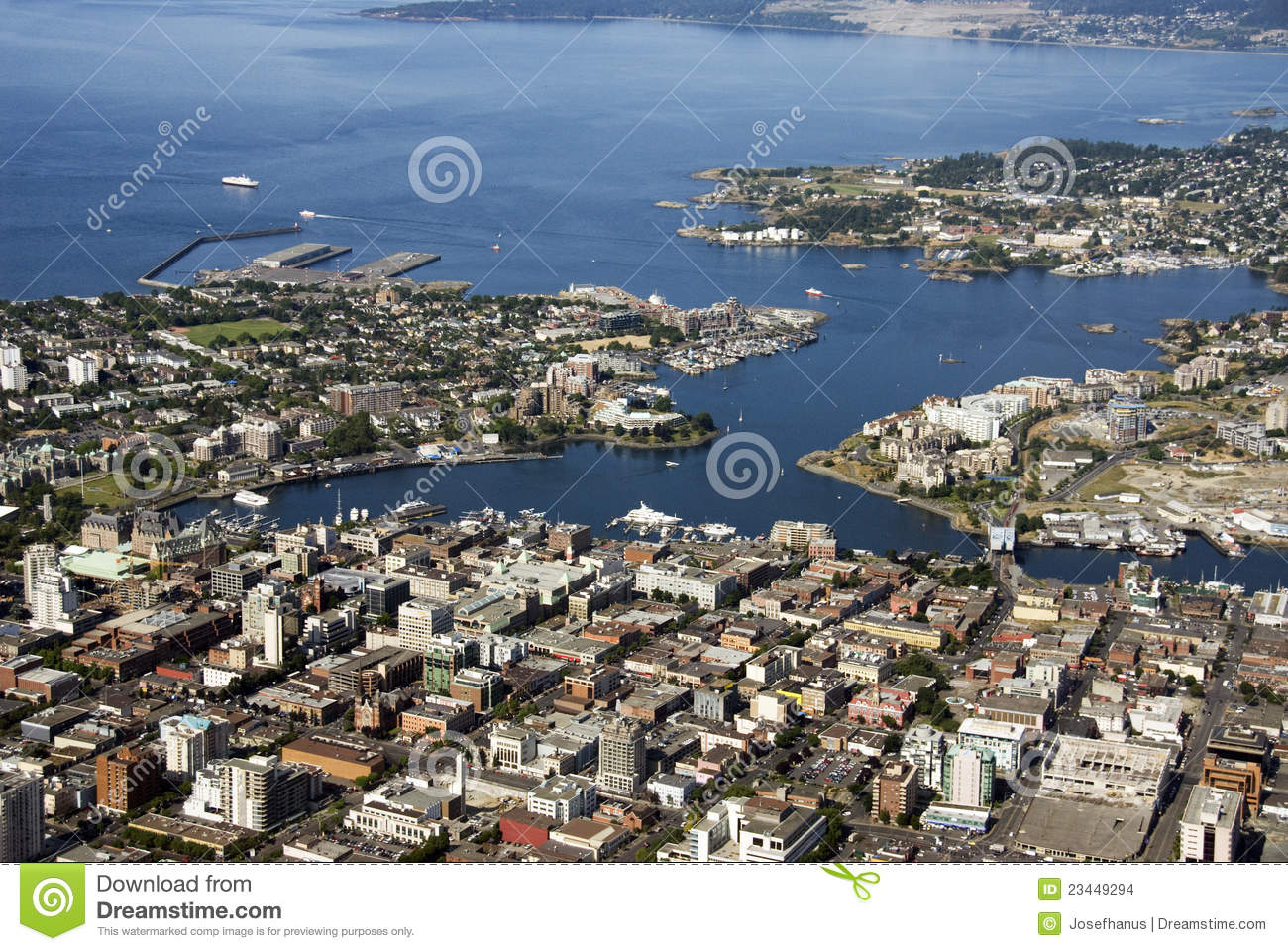 Victoria, Vancouver Island Stock Images - Image: 23449294