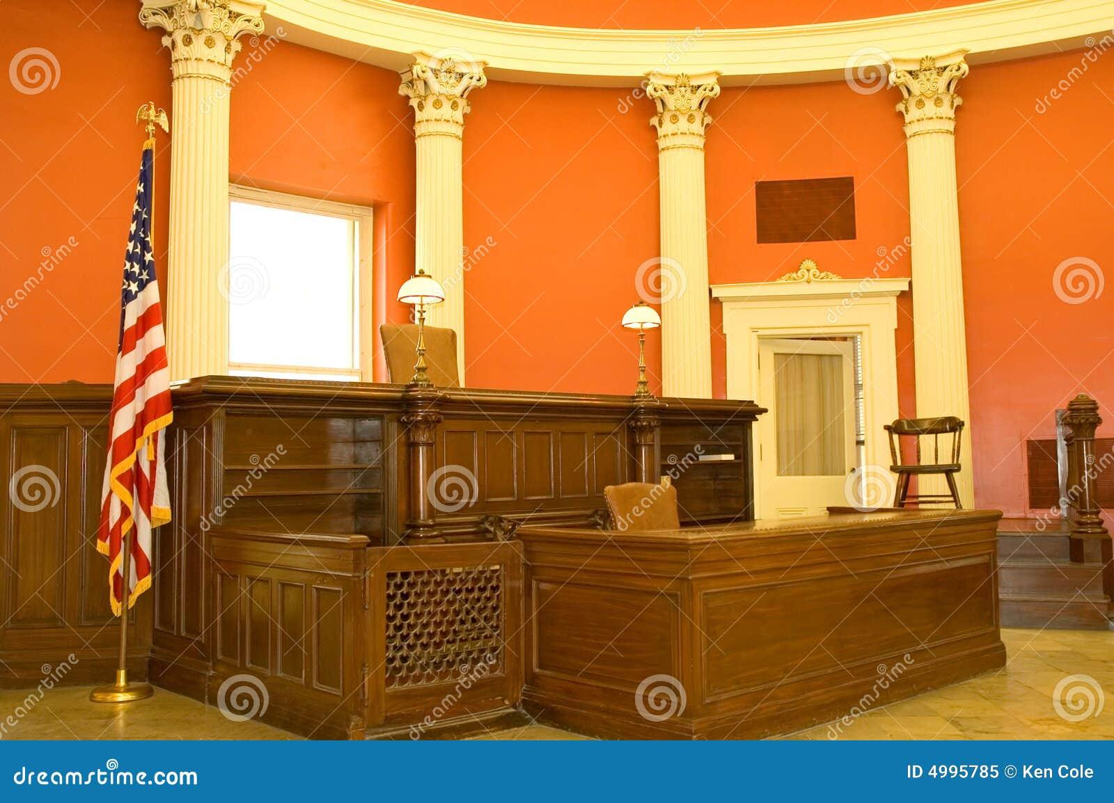 Victoriaanse rechtszaal