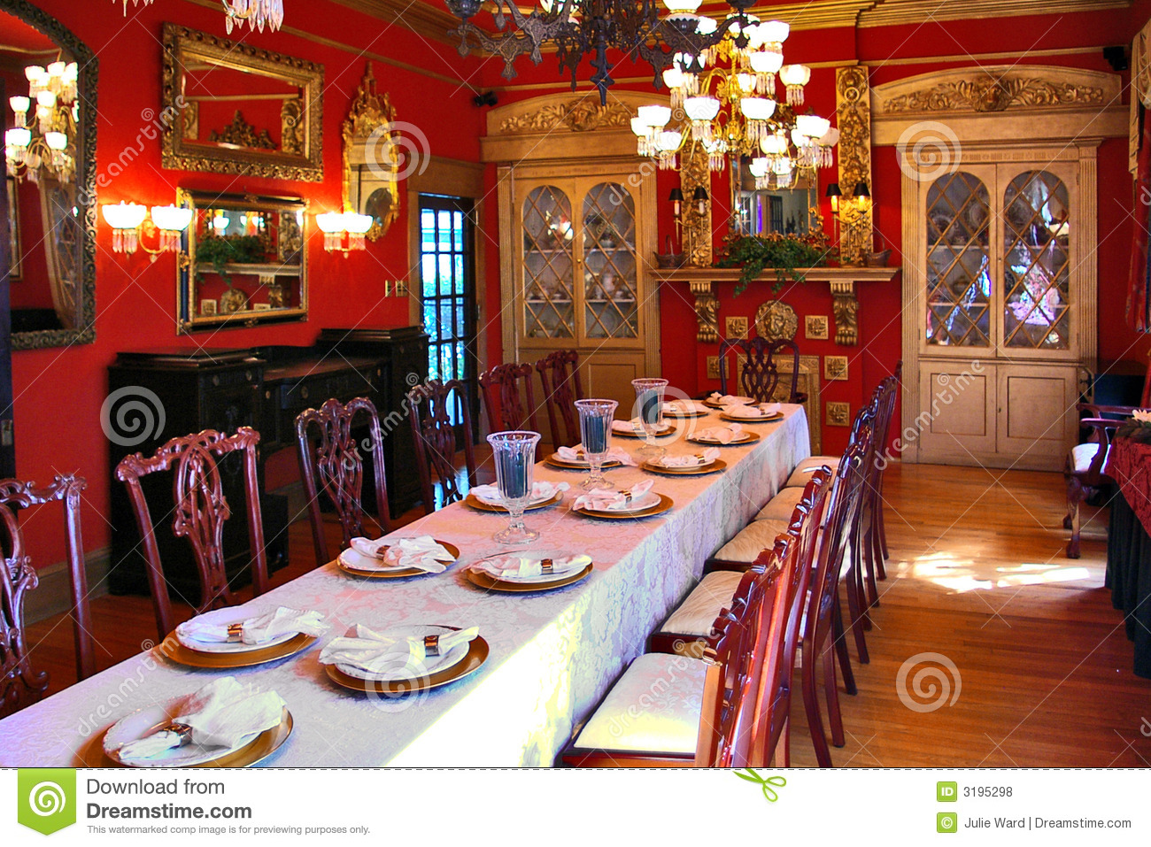 Victorian Banquet Royalty Free Stock Photos Image 3195298