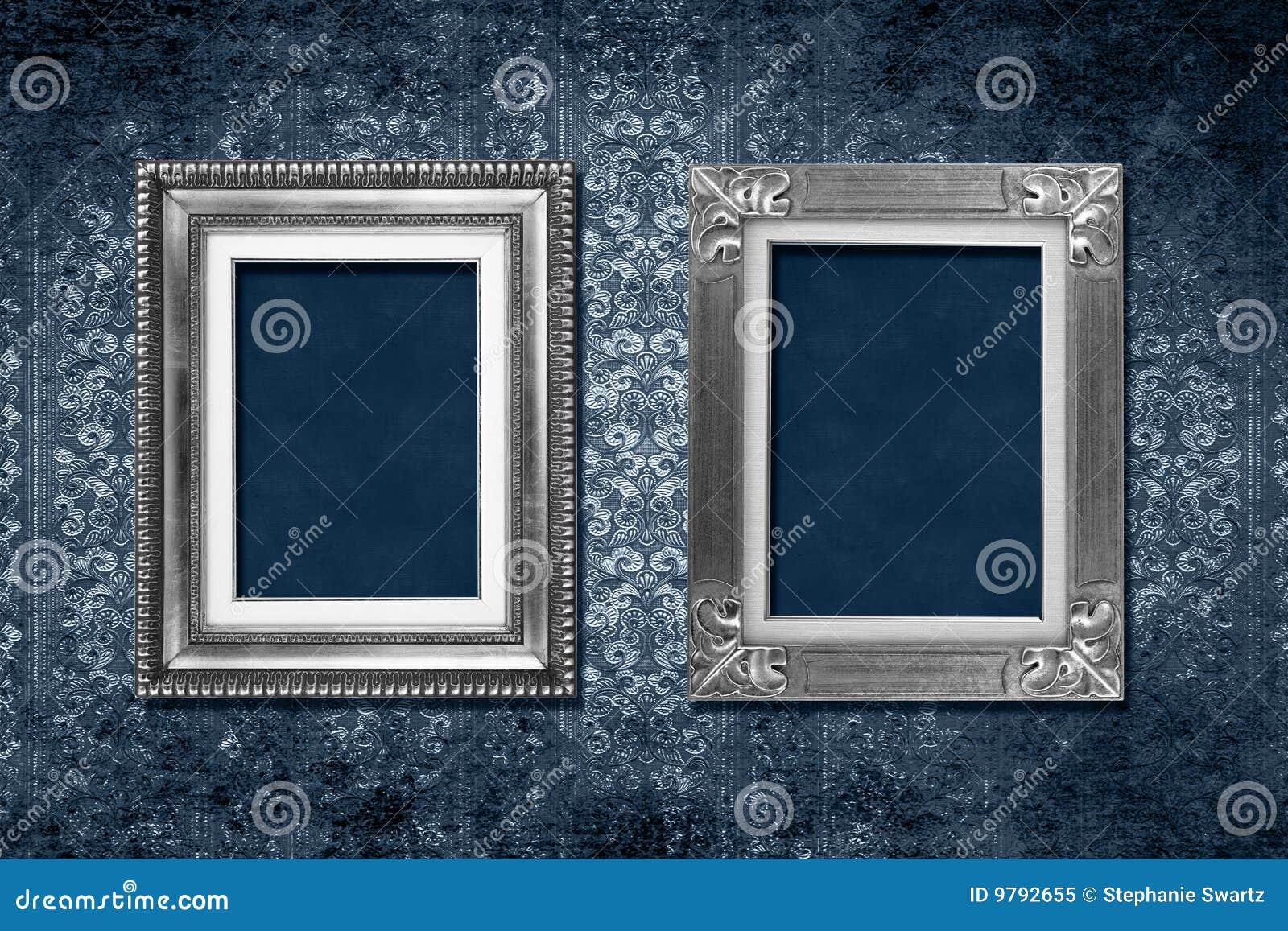 Victorian behang van het frame