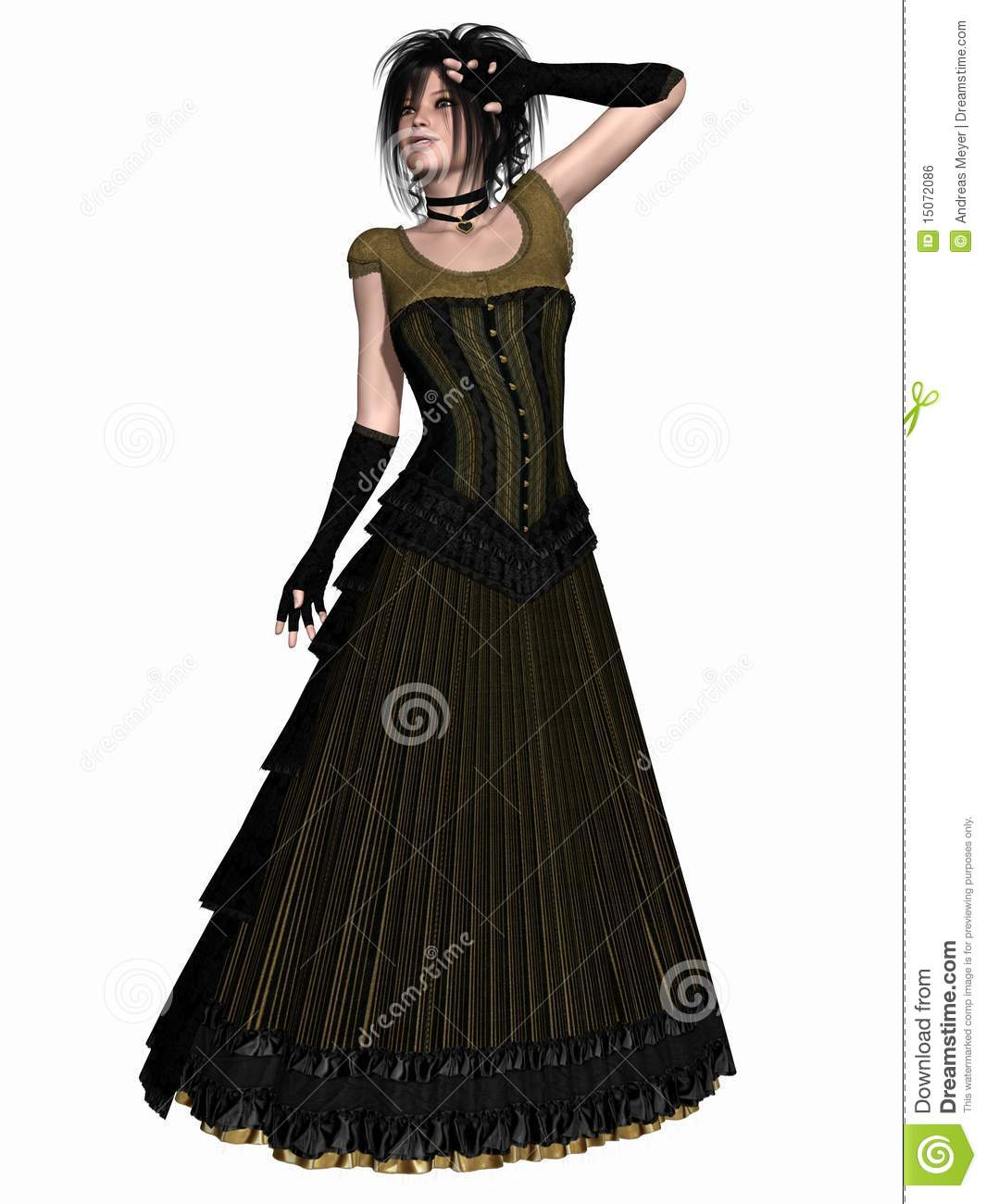 Victorian Clothes Royalty Free Stock Image Image 15072086