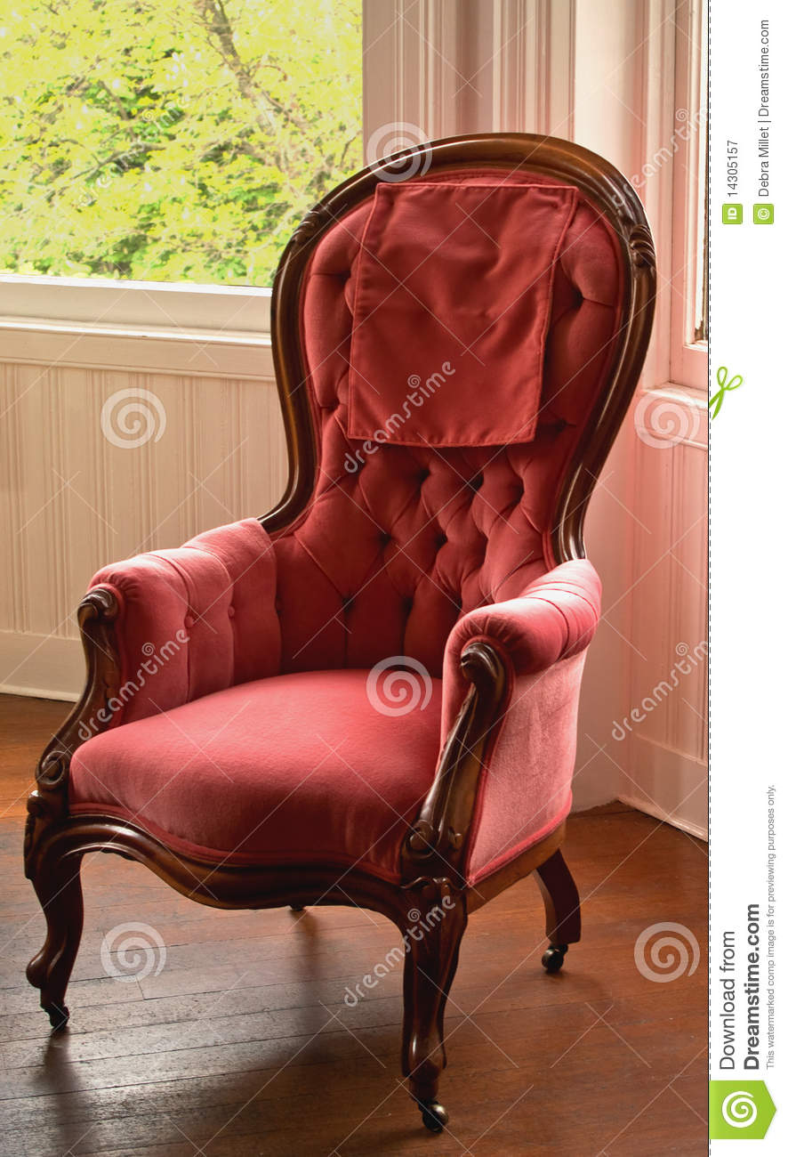 Victorian Era Chair Royalty Free Stock Photography Image
