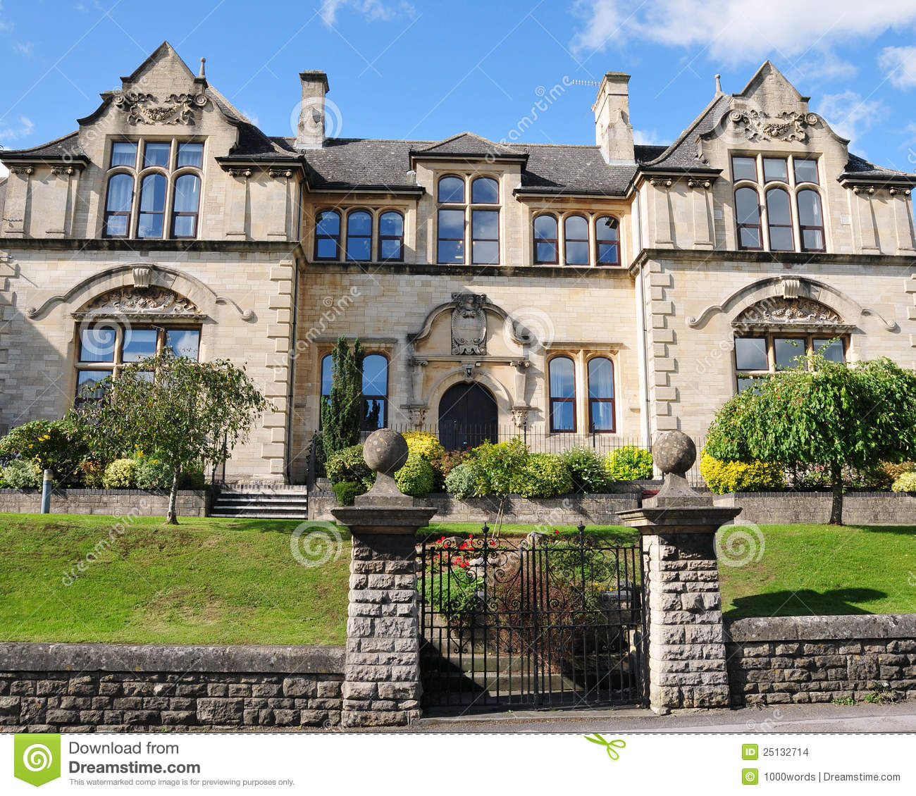Victorian Era Mansion Stock Images Image 25132714