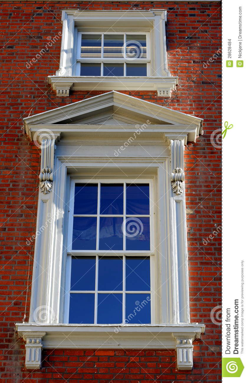 Exterior: Victorian Exterior Window Stock Photo. Image Of Window