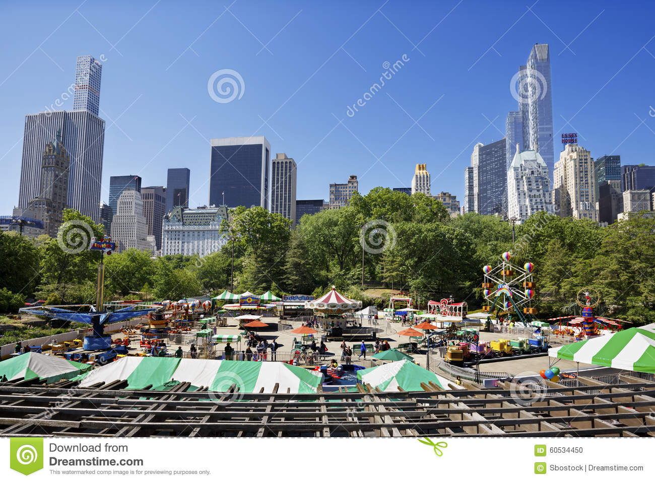 Victorian Gardens In Central Park Editorial Image 76573172