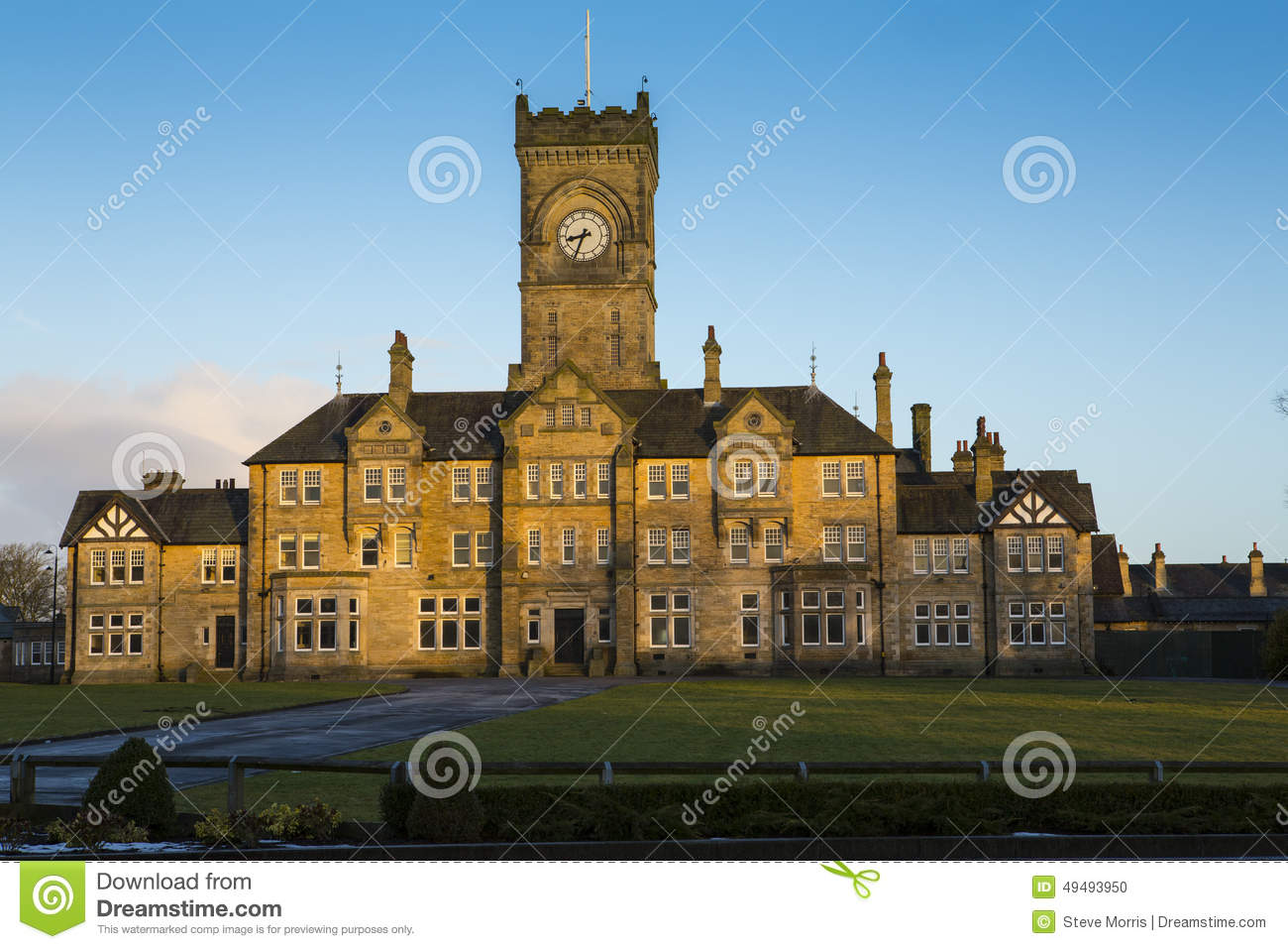 Victorian Gothic Style Architecture Stock Photo Image
