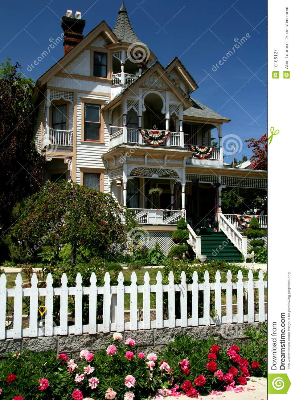 Victorian House Royalty Free Stock Photography Image 10106127