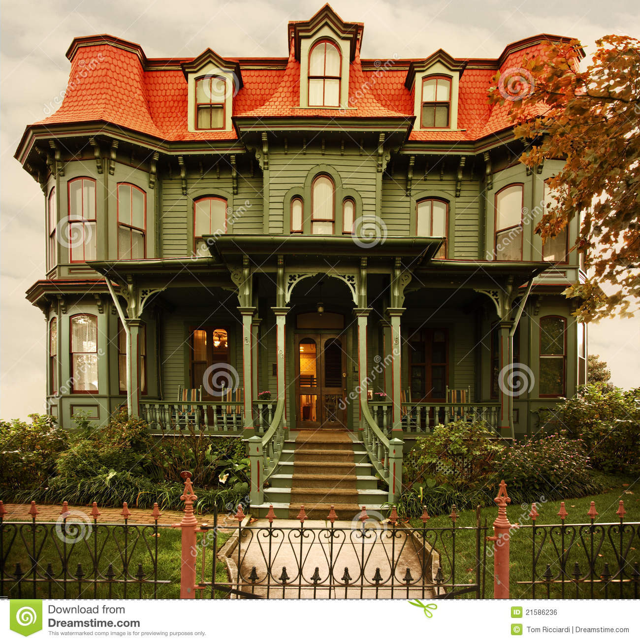 Cape May Victorian Home Royalty Free Stock Image Image