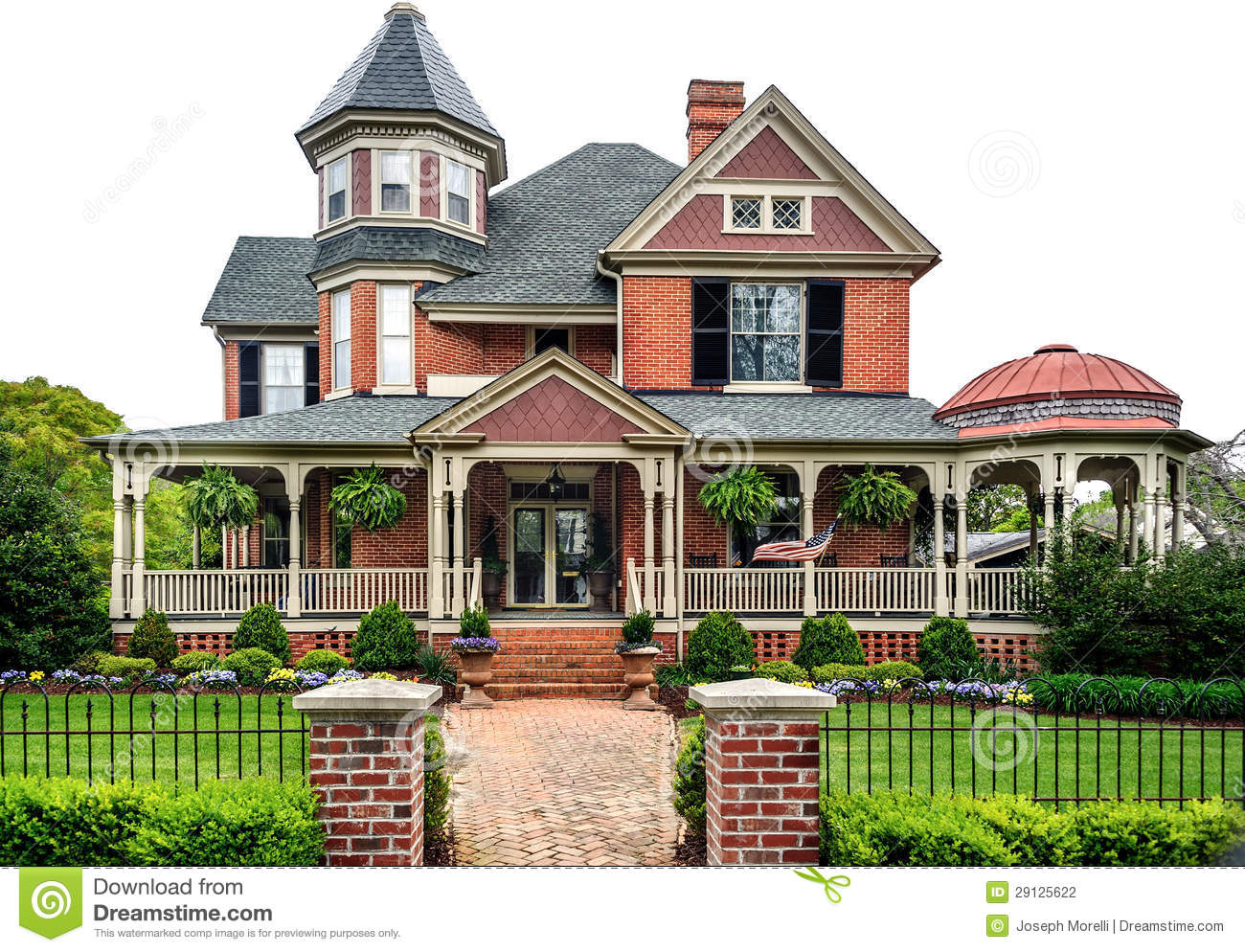 Victorian house stock photography image 29125622 for 1900 victorian house plans