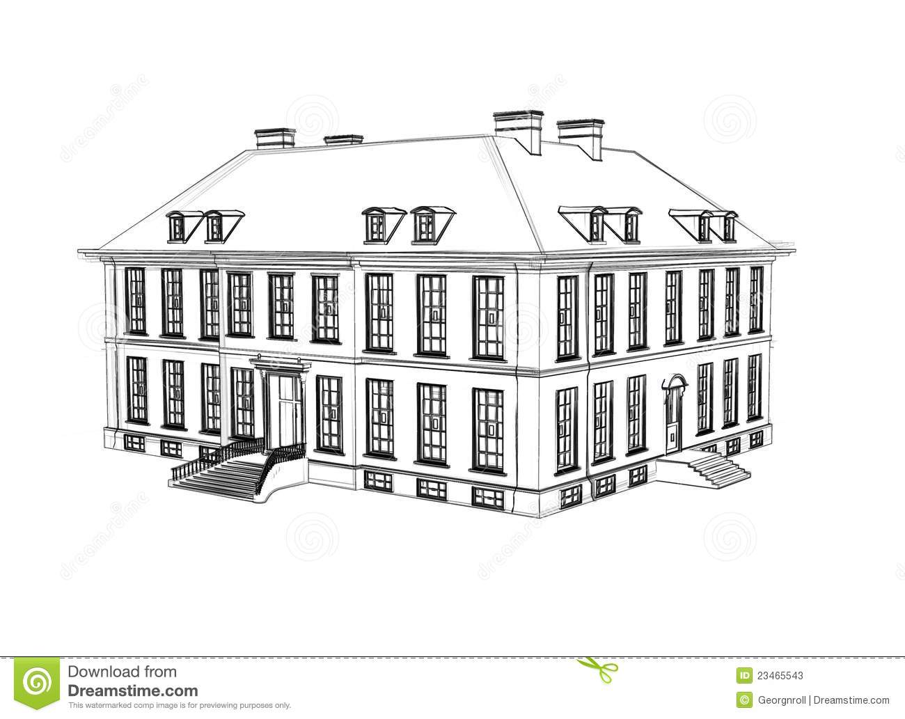 Image Result For How To Draw A House Plan Step By Step
