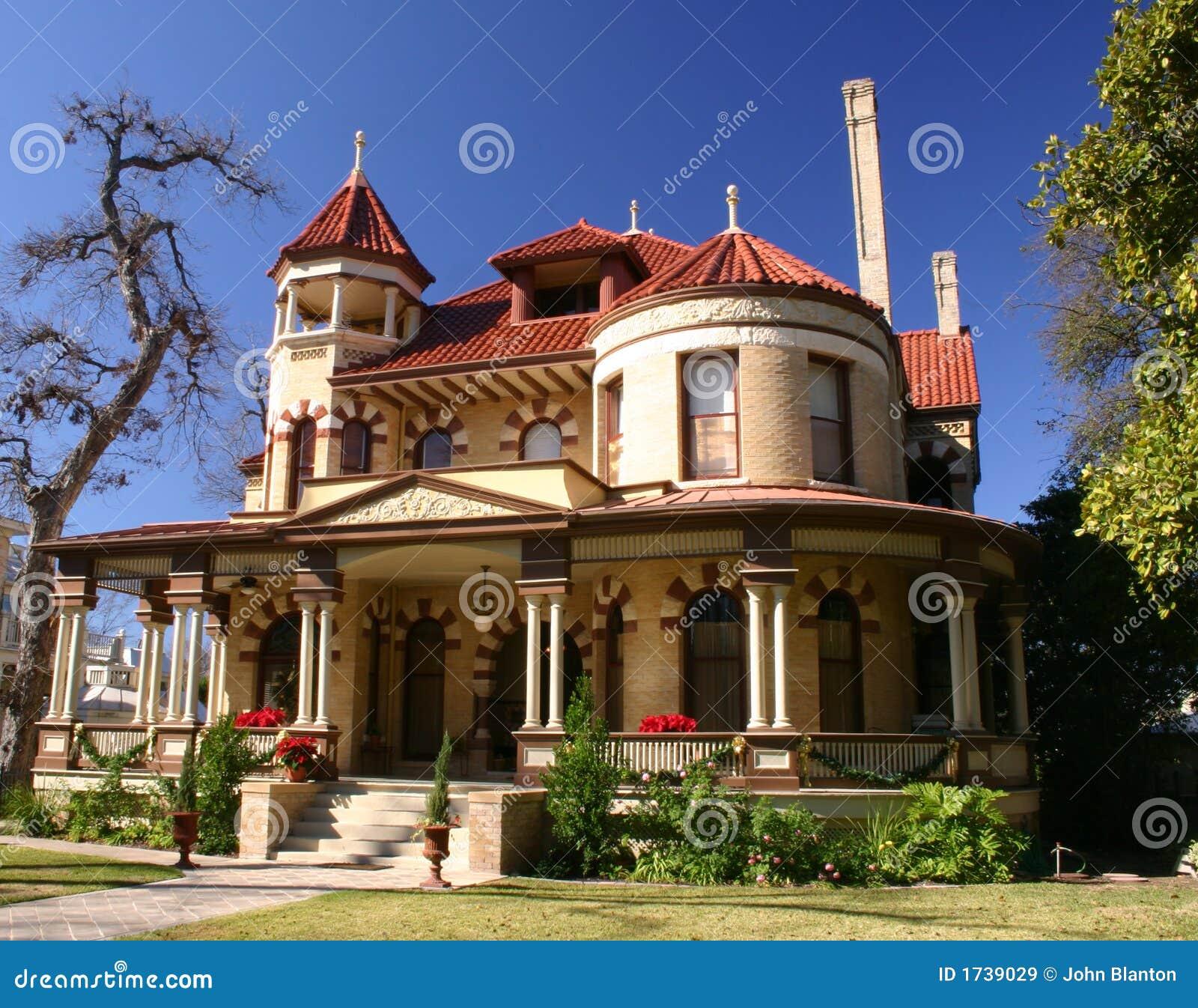 Victorian house san antonio royalty free stock images House plans san antonio