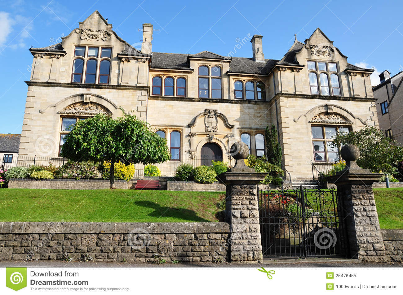 Victorian Mansion Royalty Free Stock Photo - Image: 26476455