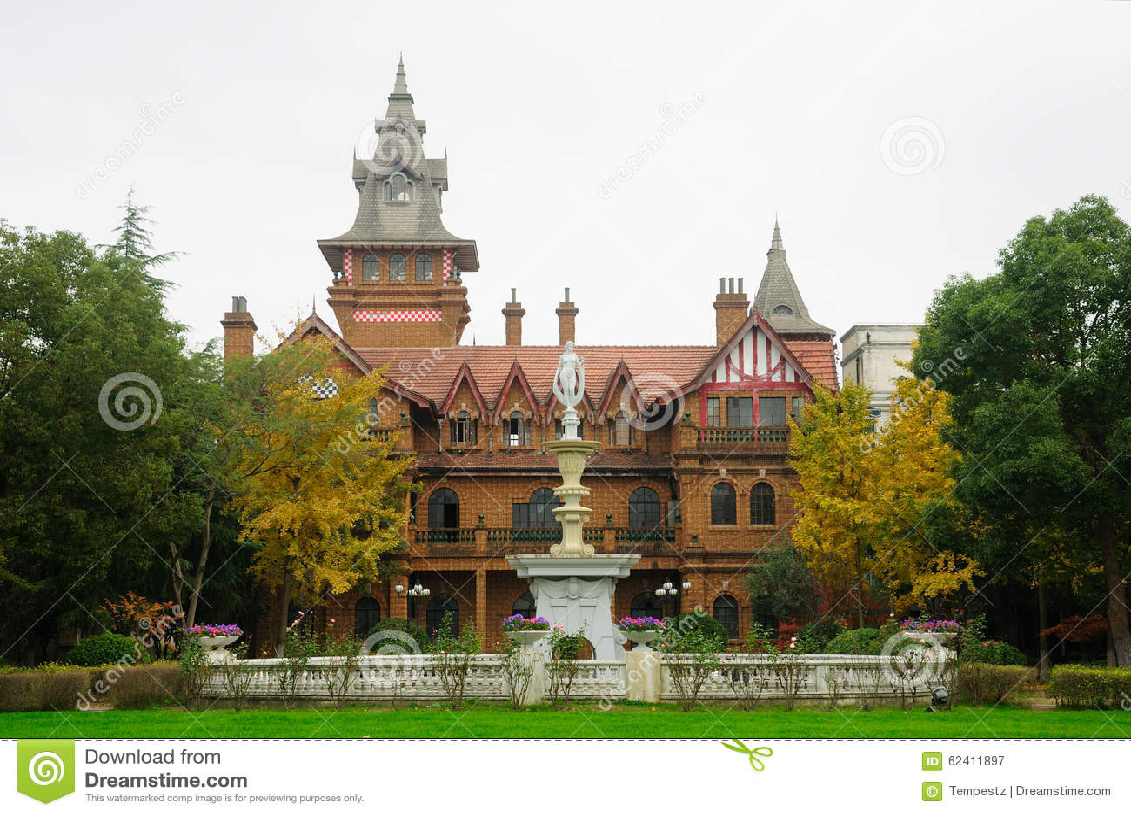 Victorian mansion at shanghai film park stock photo - Mansion victoriana ...