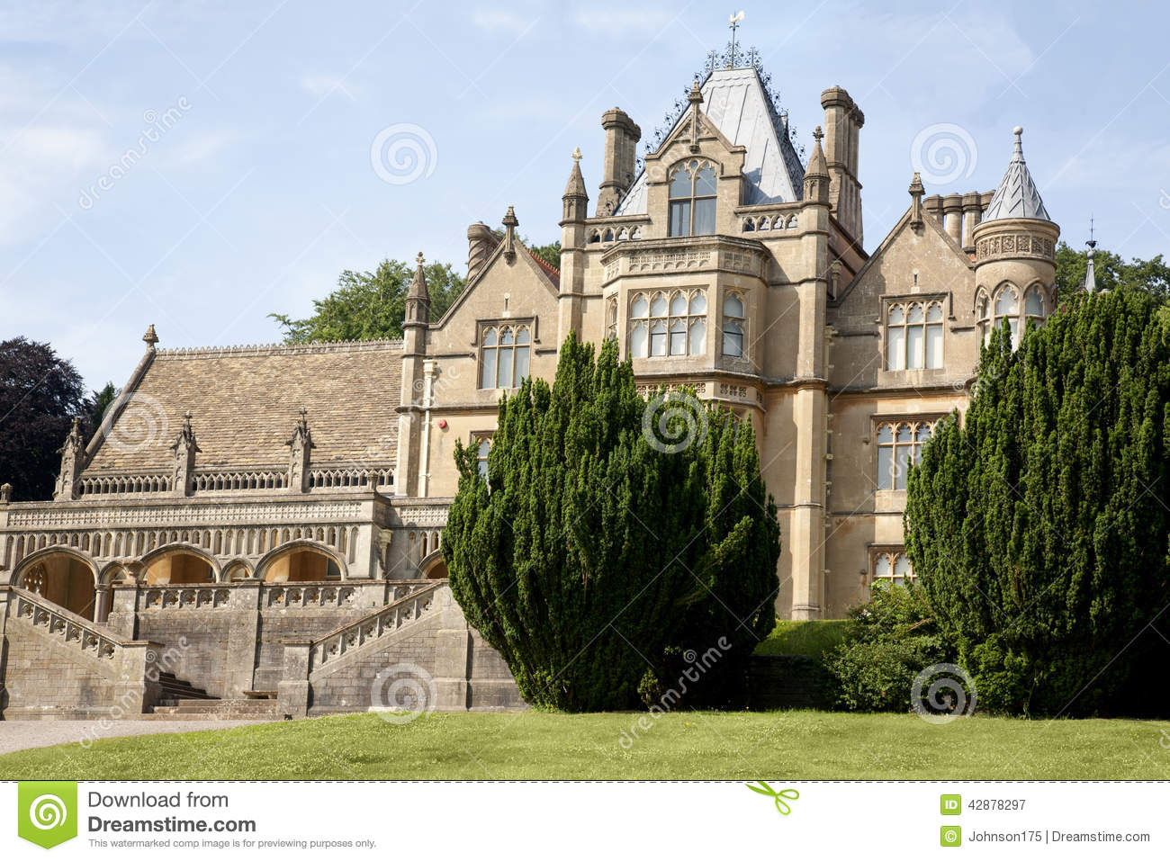 Victorian Mansion Stock Image Of Country Heritage