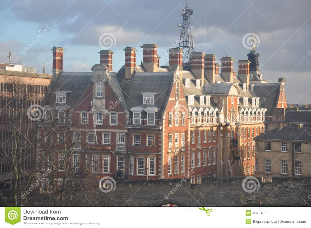 Victorian Old Factory Uk Royalty Free Stock Image Image