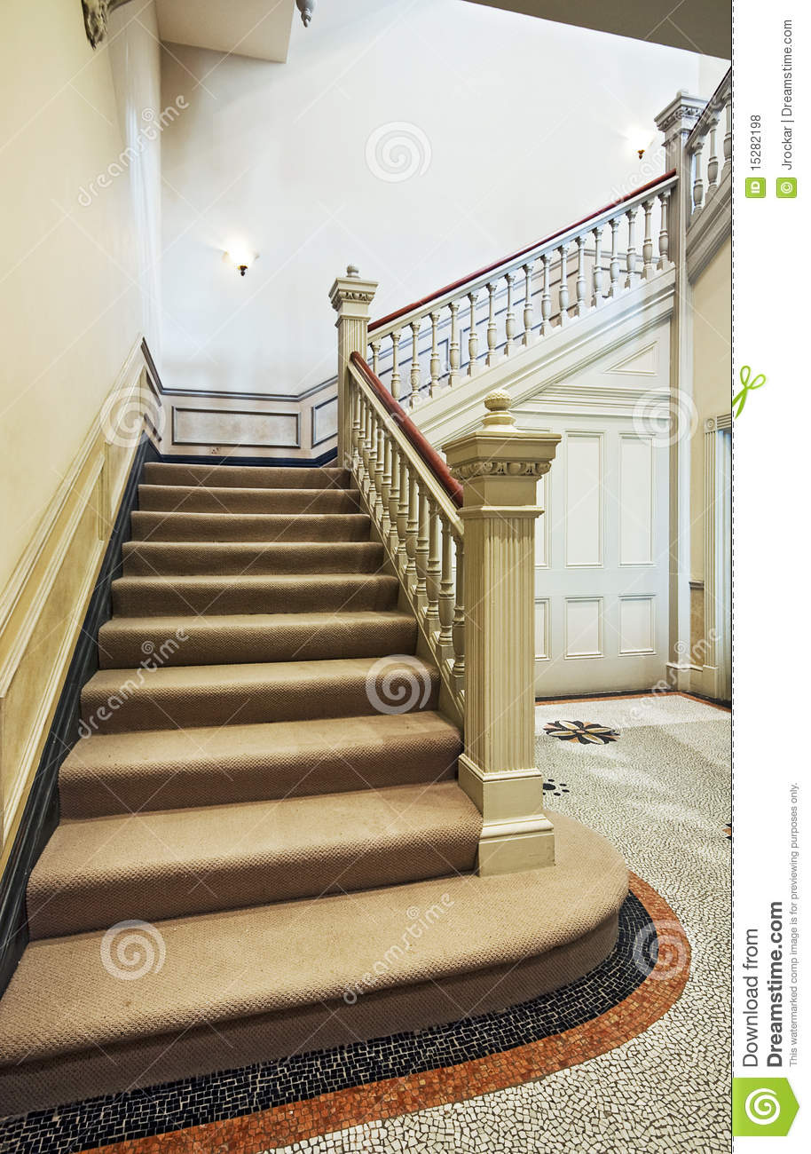 Victorian Staircase Stock Photo Image Of Cover