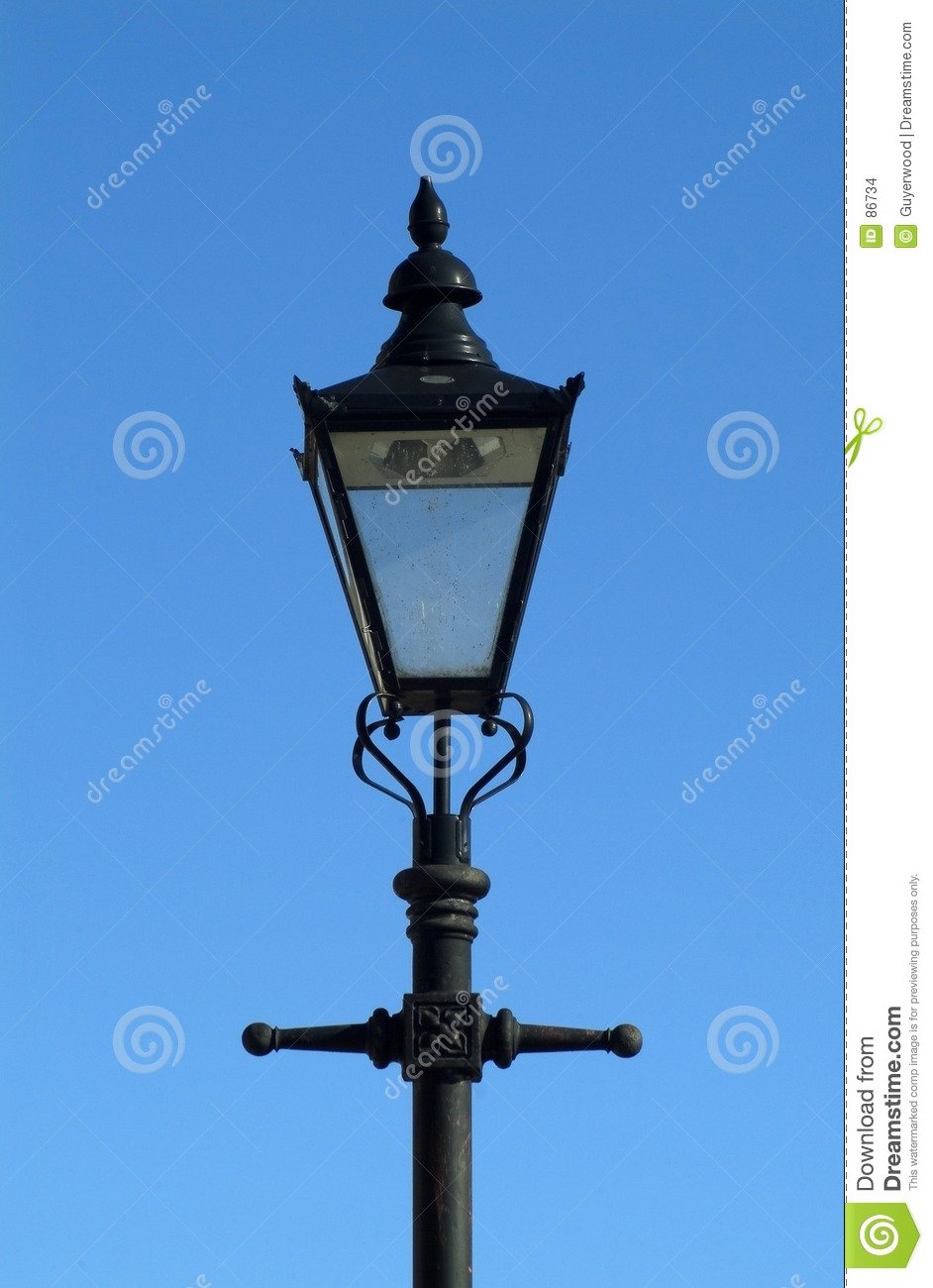 Victorian Street Lamp Stock Images Image 86734